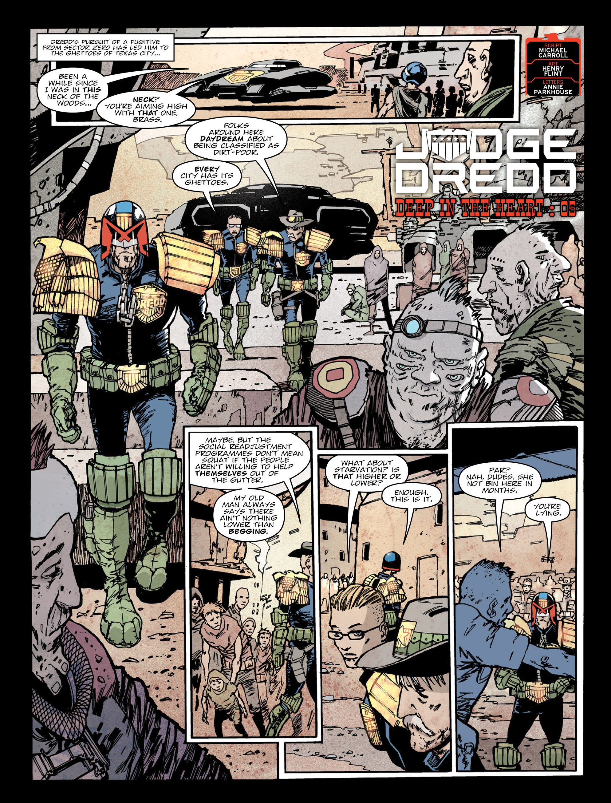 Read online 2000 AD comic -  Issue #2016 - 3