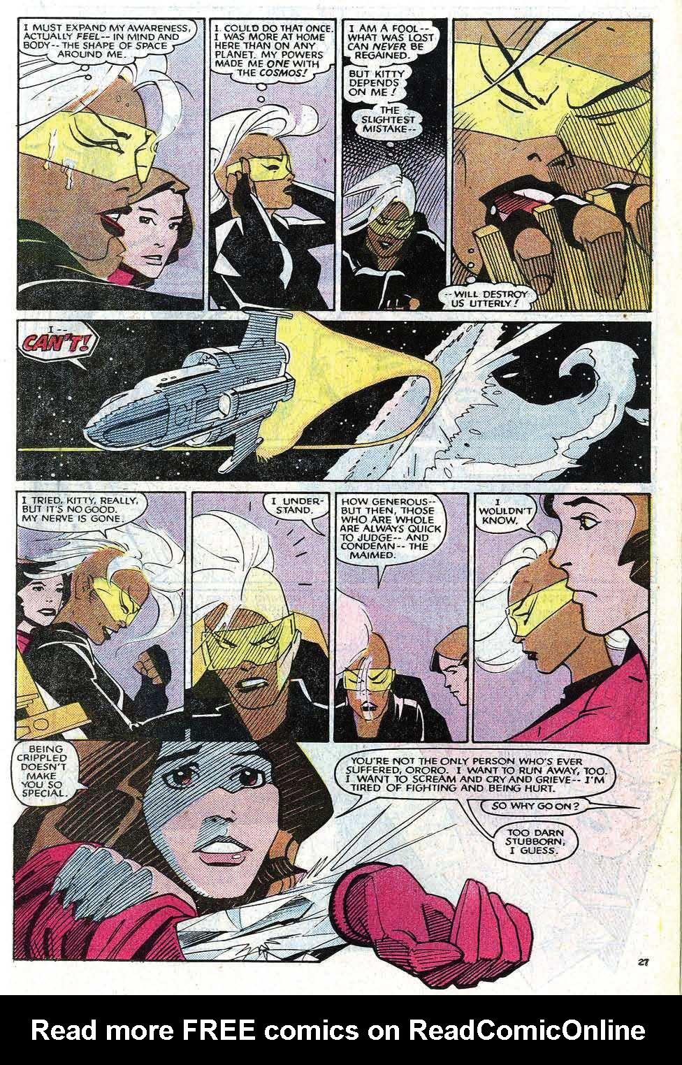 Read online Uncanny X-Men (1963) comic -  Issue # _Annual 8 - 33
