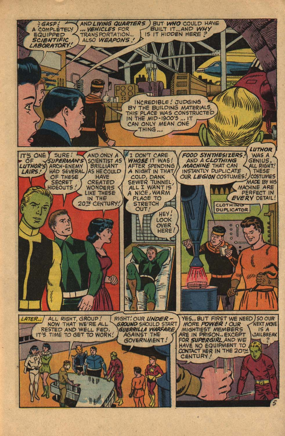 Read online Adventure Comics (1938) comic -  Issue #360 - 8