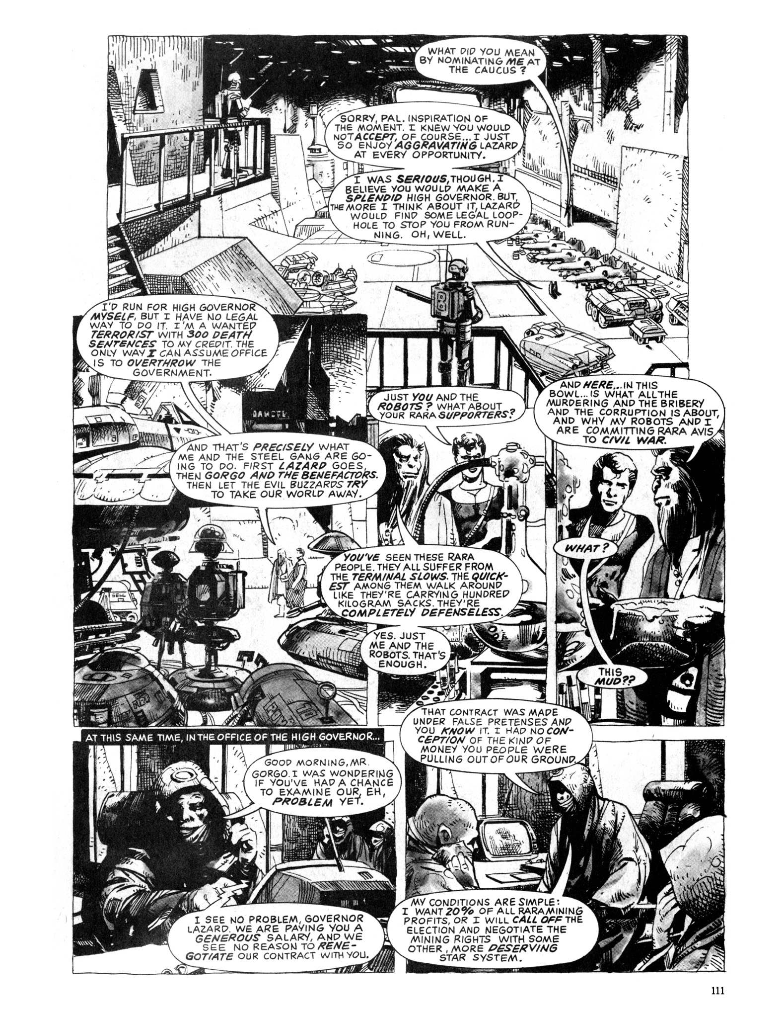 Read online Eerie Archives comic -  Issue # TPB 20 - 111