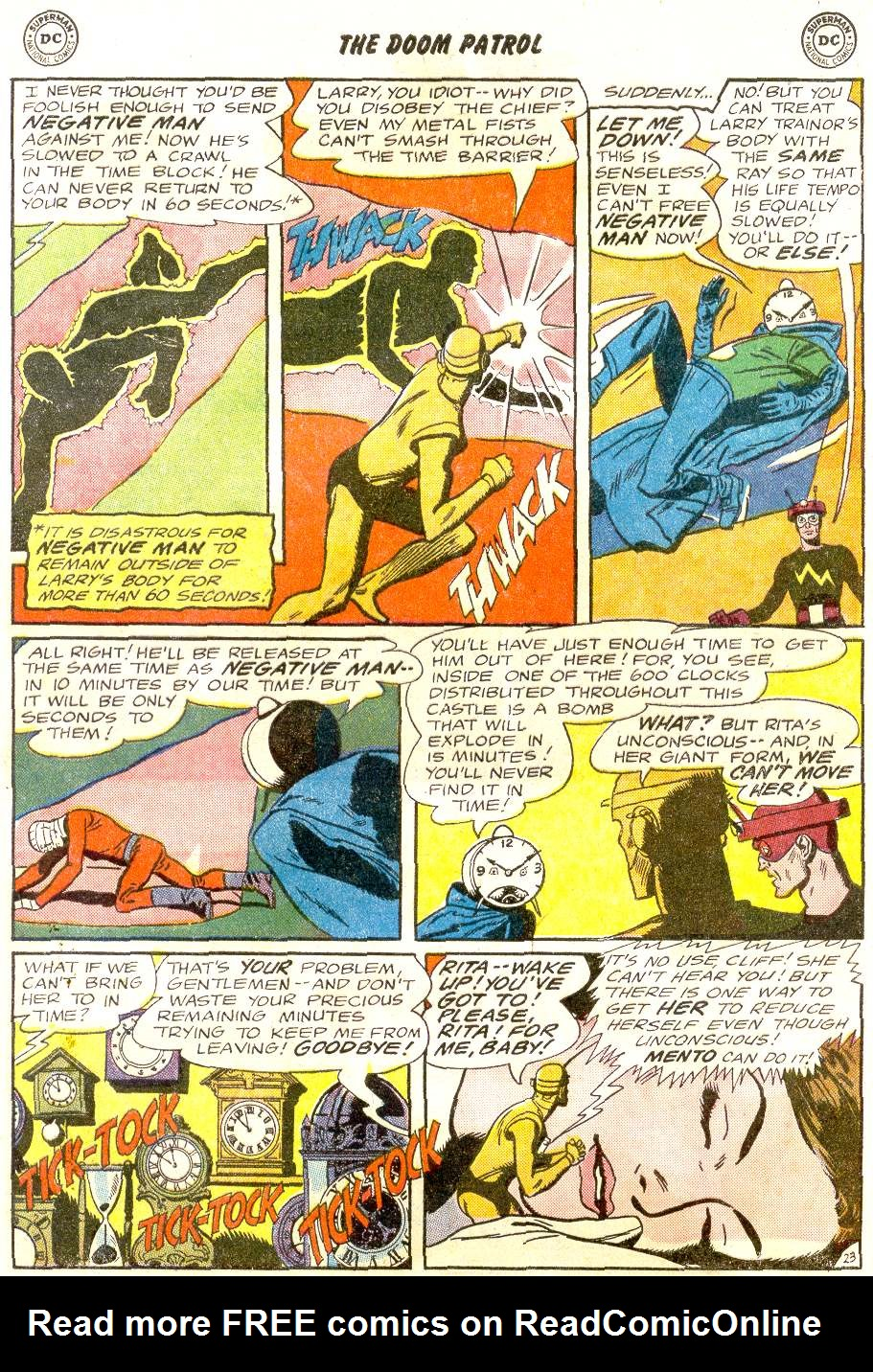Doom Patrol (1964) issue 92 - Page 29