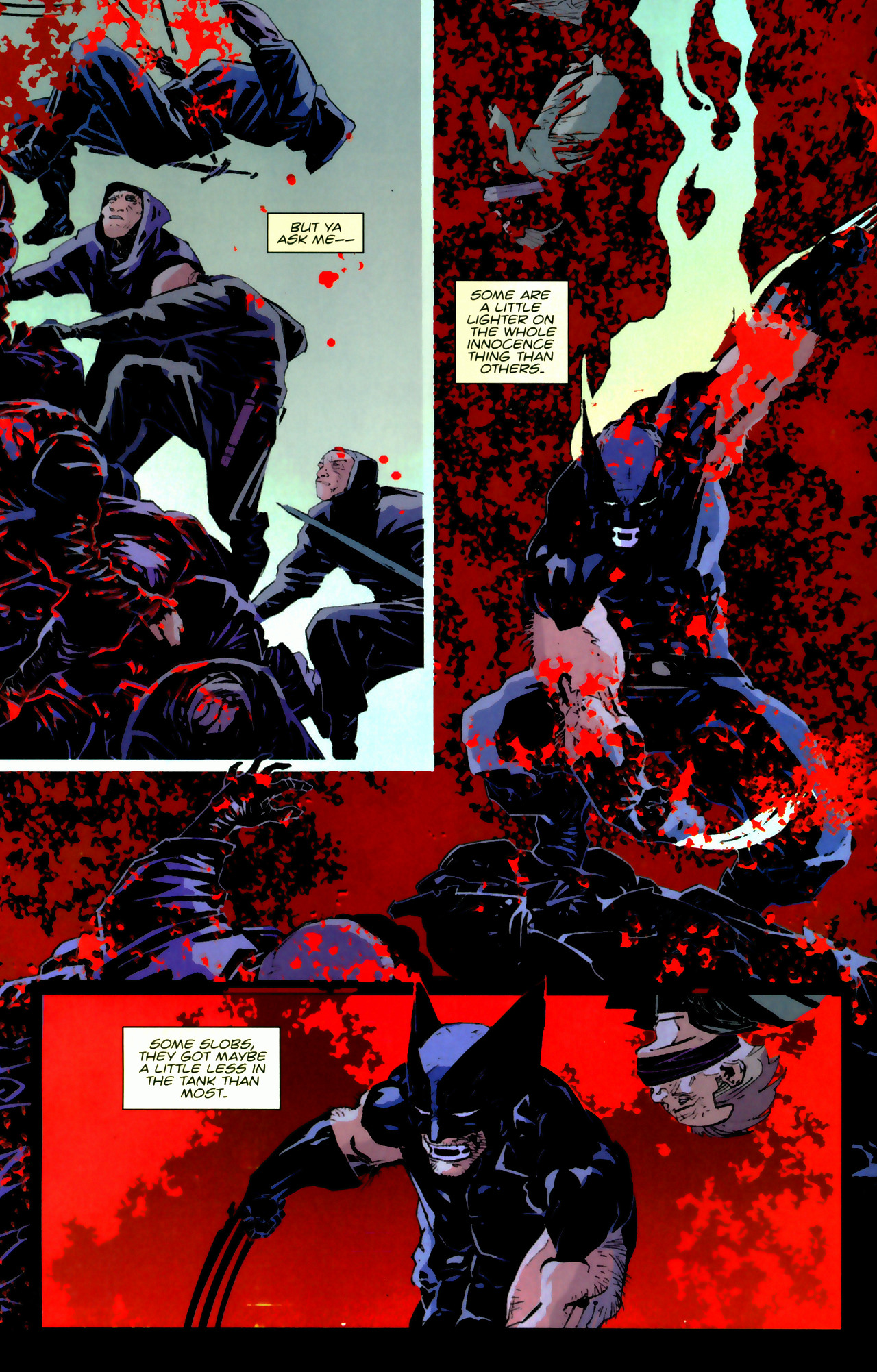 Read online X-Force Special: Ain't No Dog comic -  Issue # Full - 18