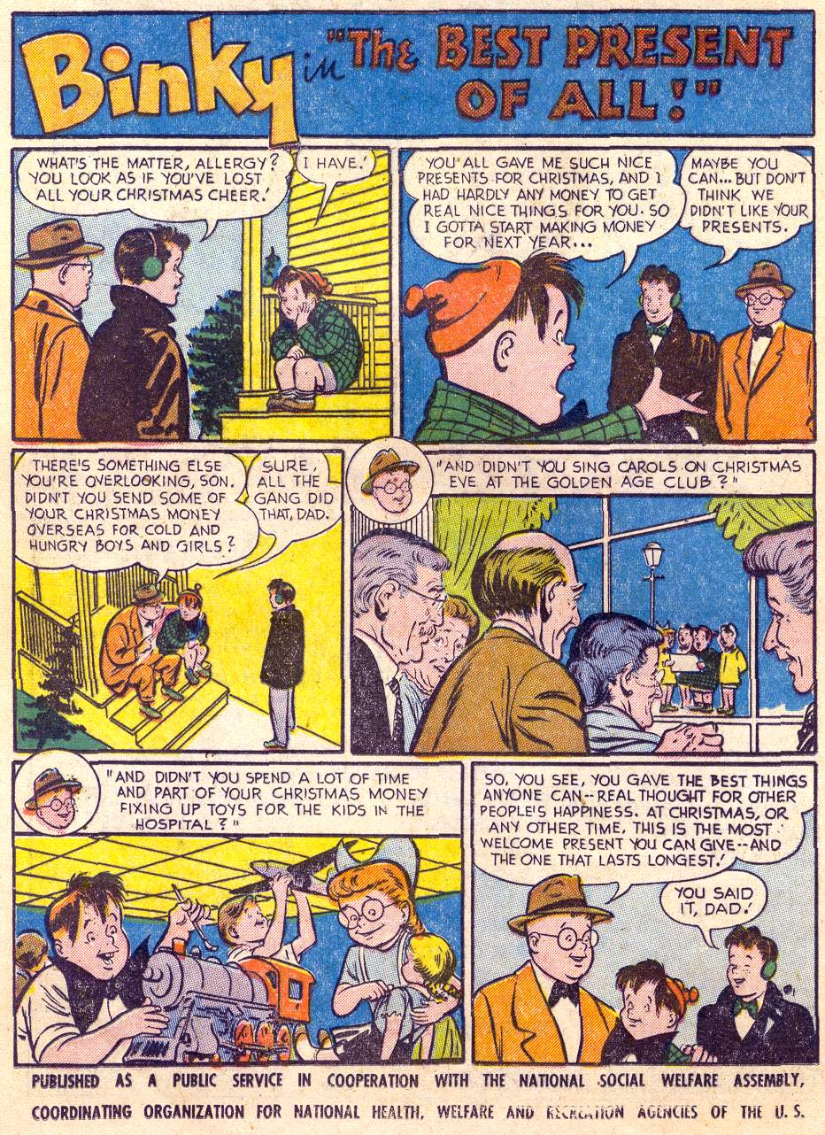 Read online Adventure Comics (1938) comic -  Issue #197 - 16