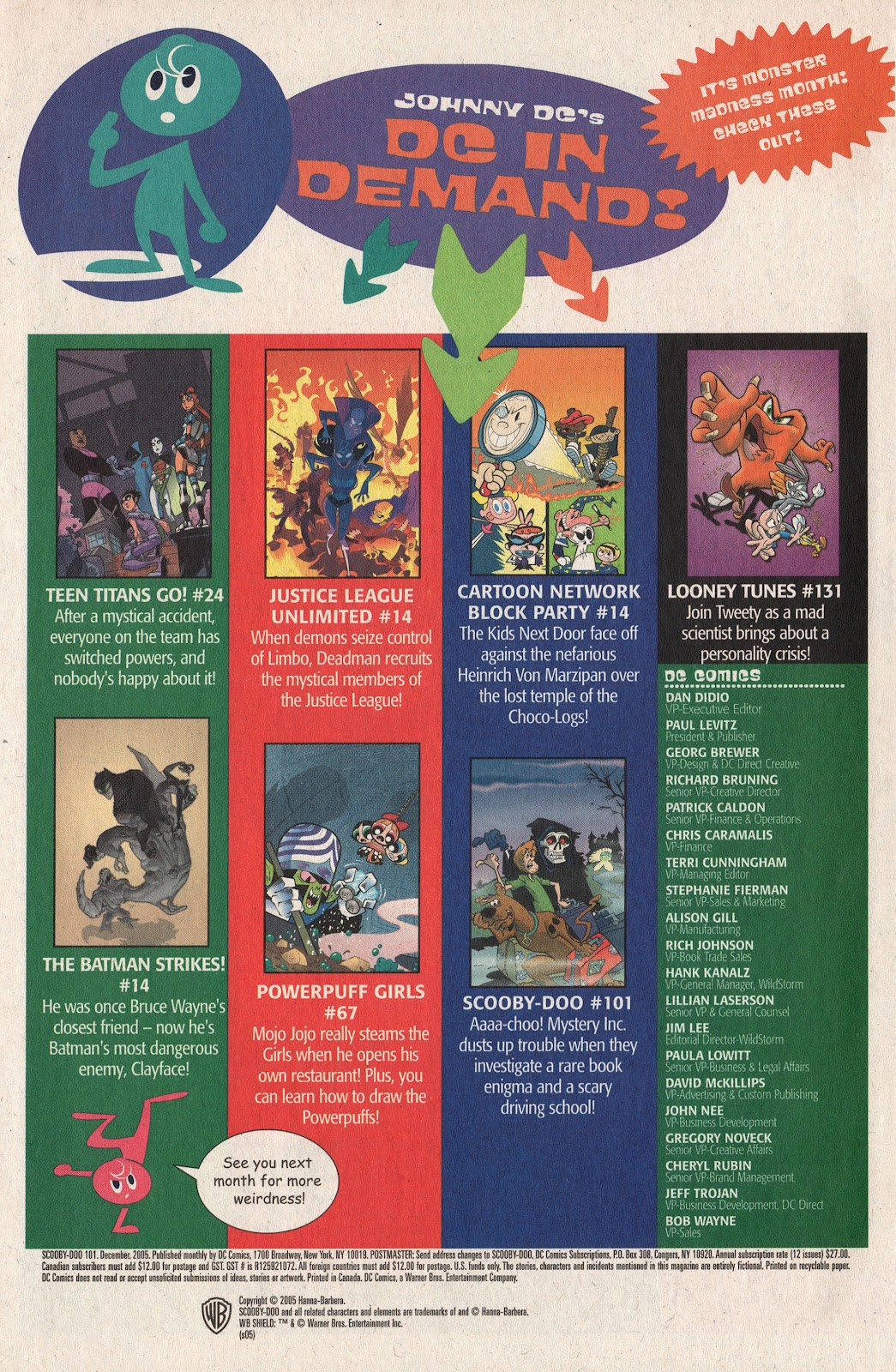 Read online Scooby-Doo (1997) comic -  Issue #101 - 50