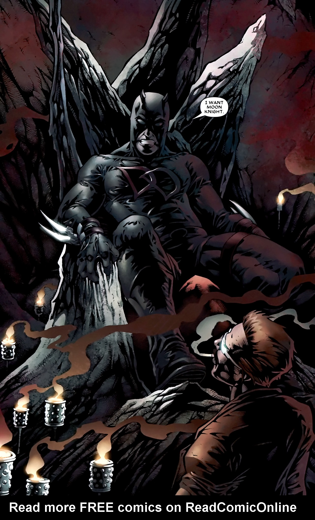Read online Shadowland: Moon Knight comic -  Issue #1 - 10