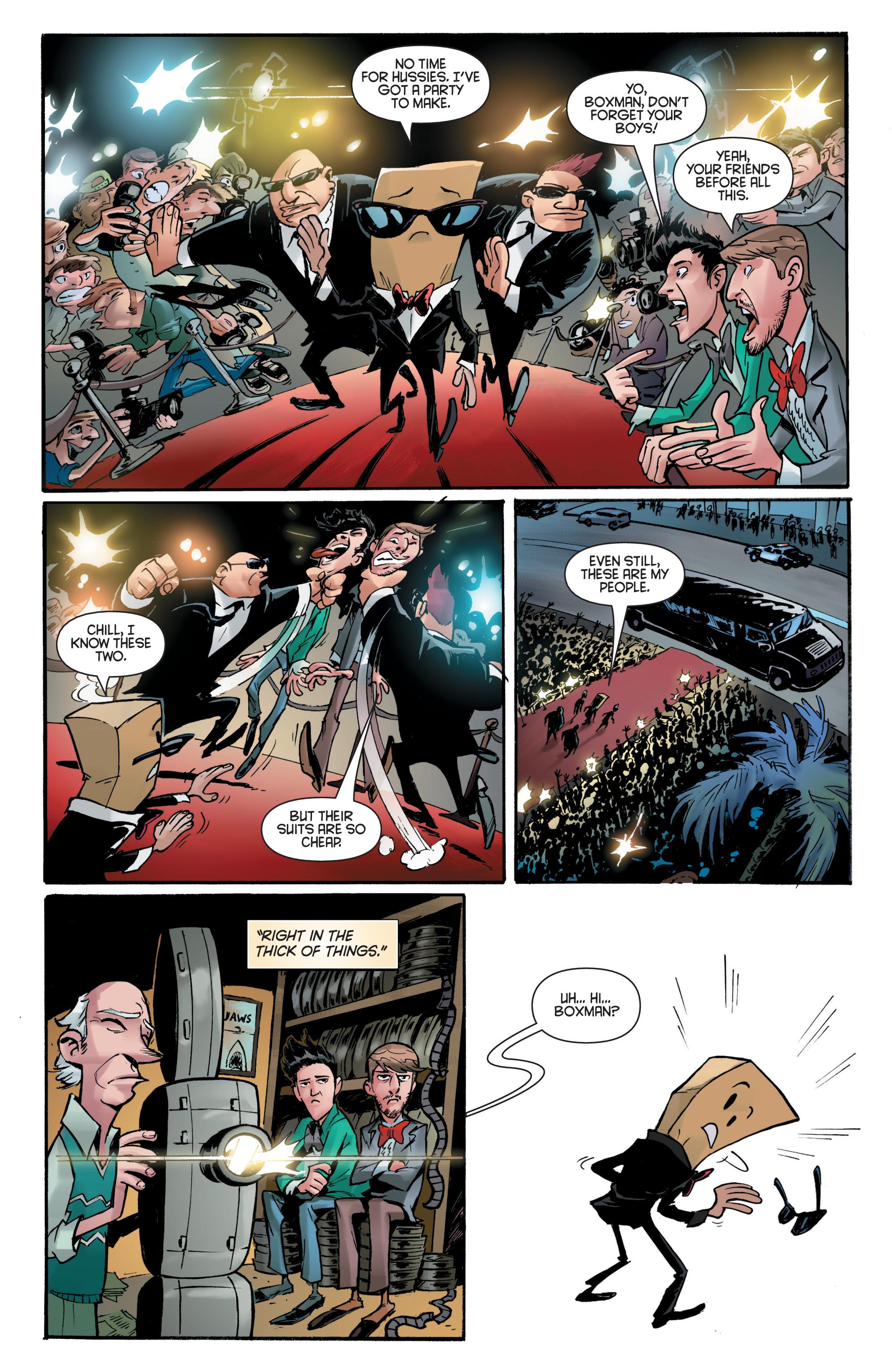 Read online Smosh comic -  Issue #5 - 5