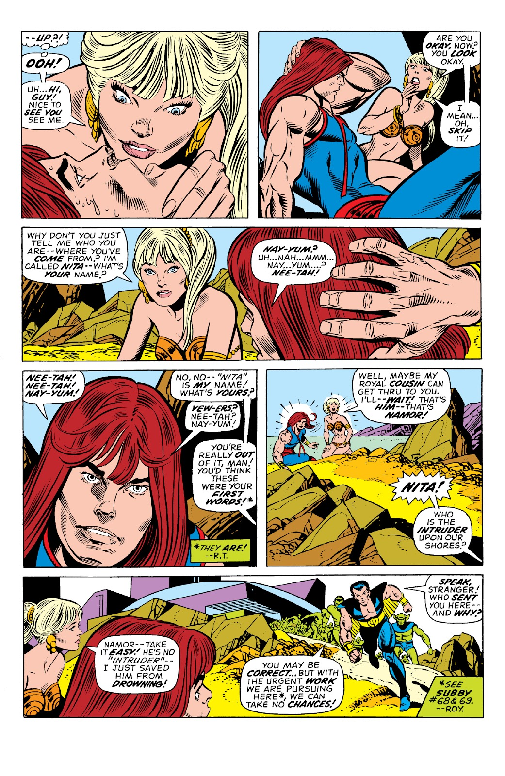 Read online Marvel Two-In-One Epic Collection: Cry Monster comic -  Issue # TPB (Part 1) - 68
