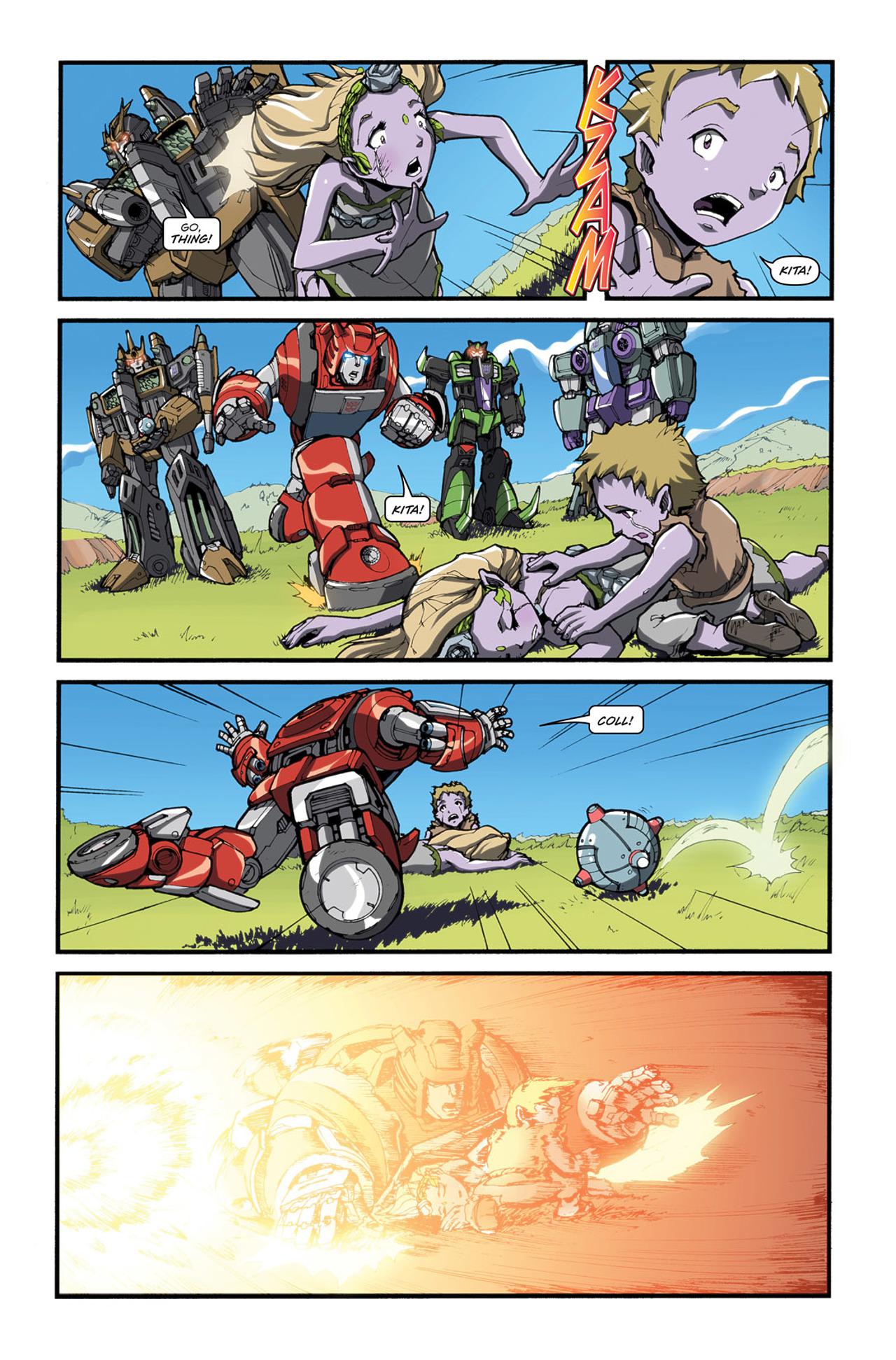Read online Transformers Spotlight: Cliffjumper comic -  Issue # Full - 21