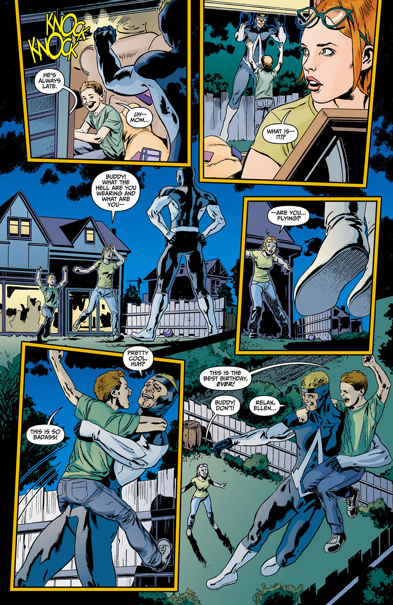 Read online Animal Man (2011) comic -  Issue #0 - 16