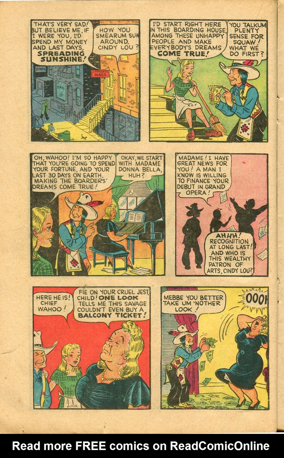 Read online Famous Funnies comic -  Issue #147 - 20
