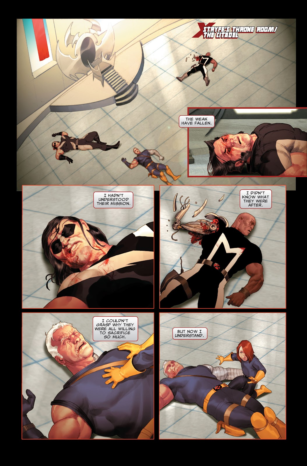 Read online X-Force/Cable: Messiah War comic -  Issue # _TPB (Part 2) - 94
