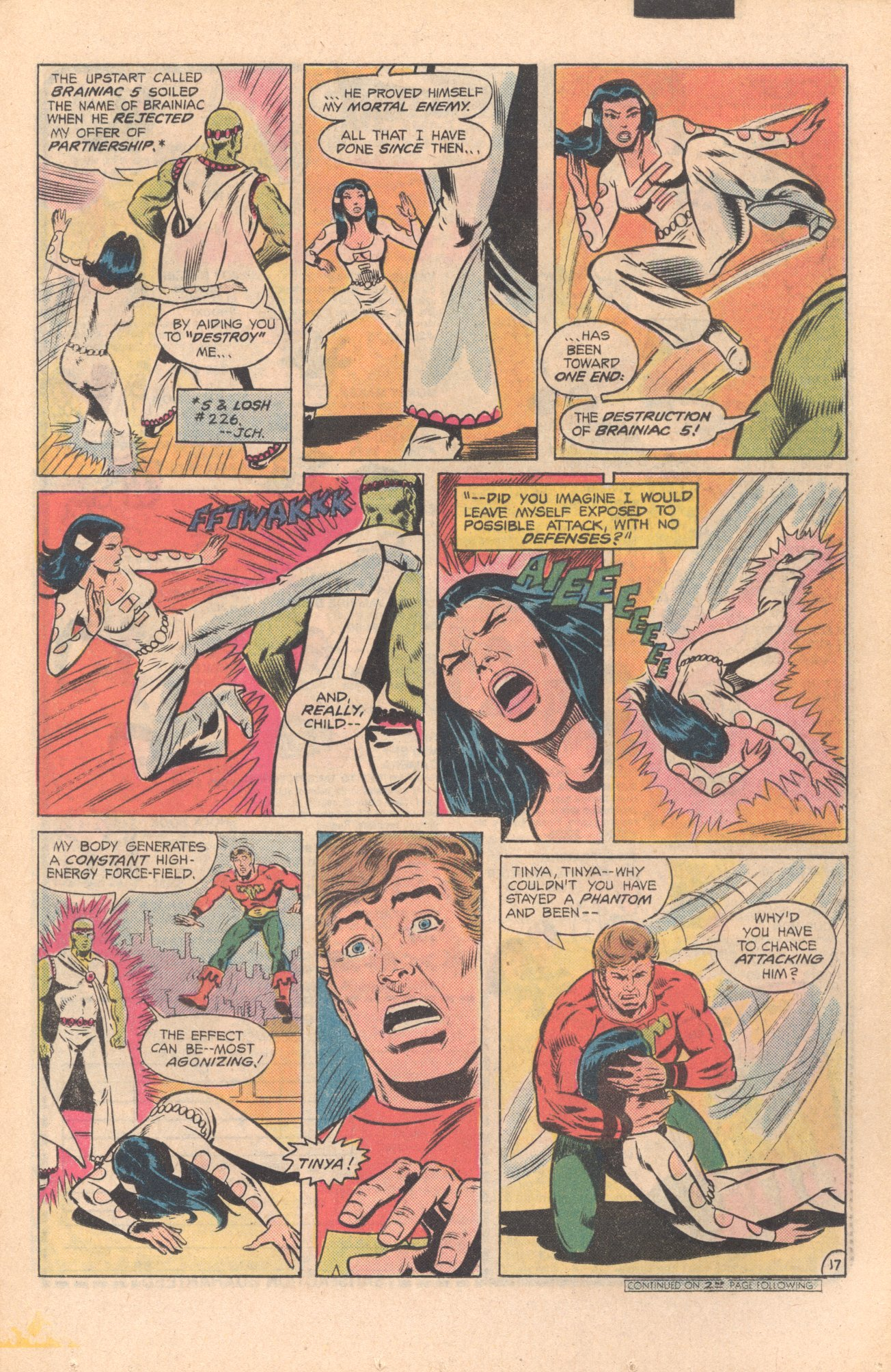 Legion of Super-Heroes (1980) 273 Page 17