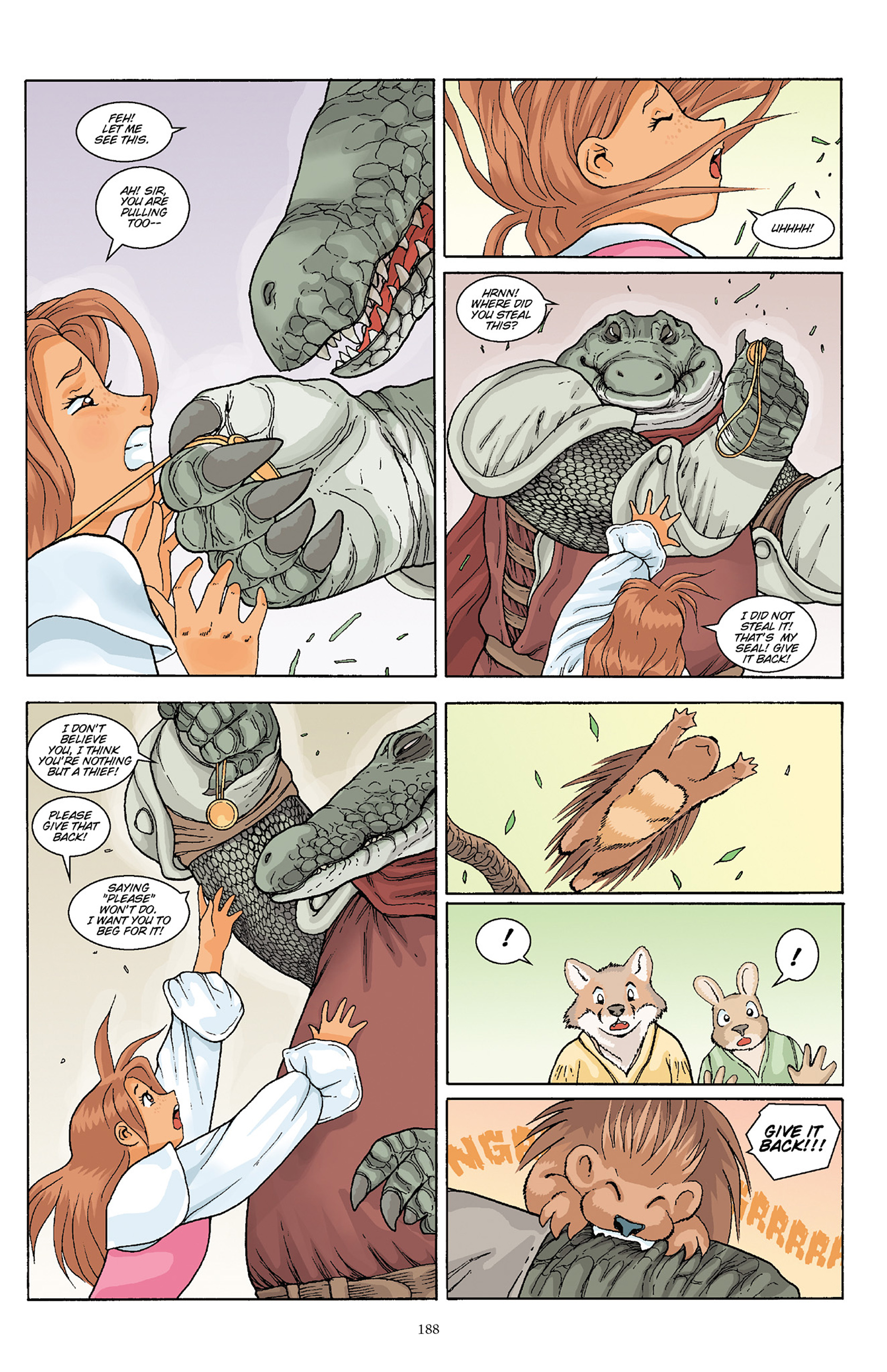 Read online Courageous Princess comic -  Issue # TPB 1 - 185