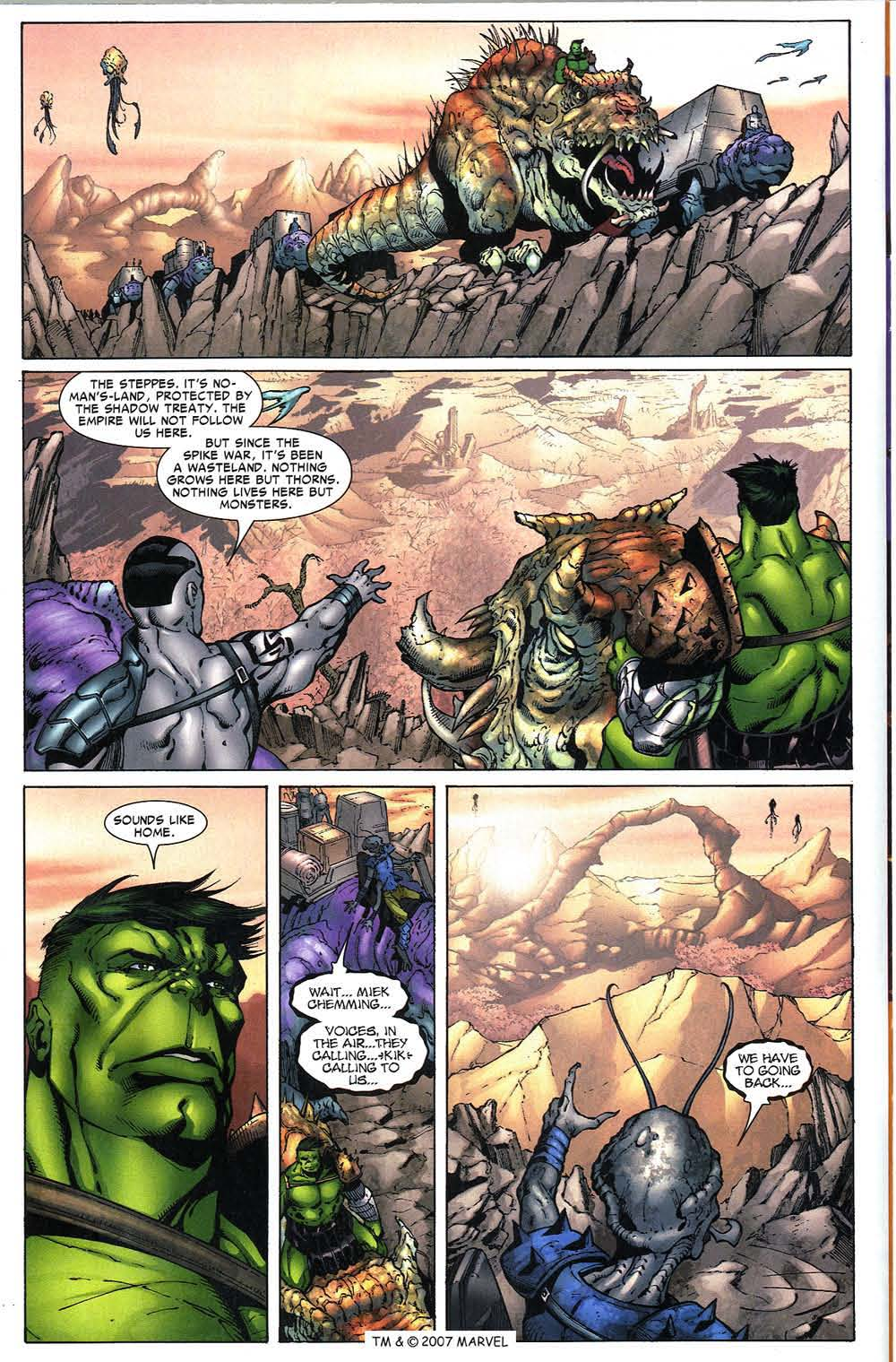 Read online The Incredible Hulk (2000) comic -  Issue #97 - 14