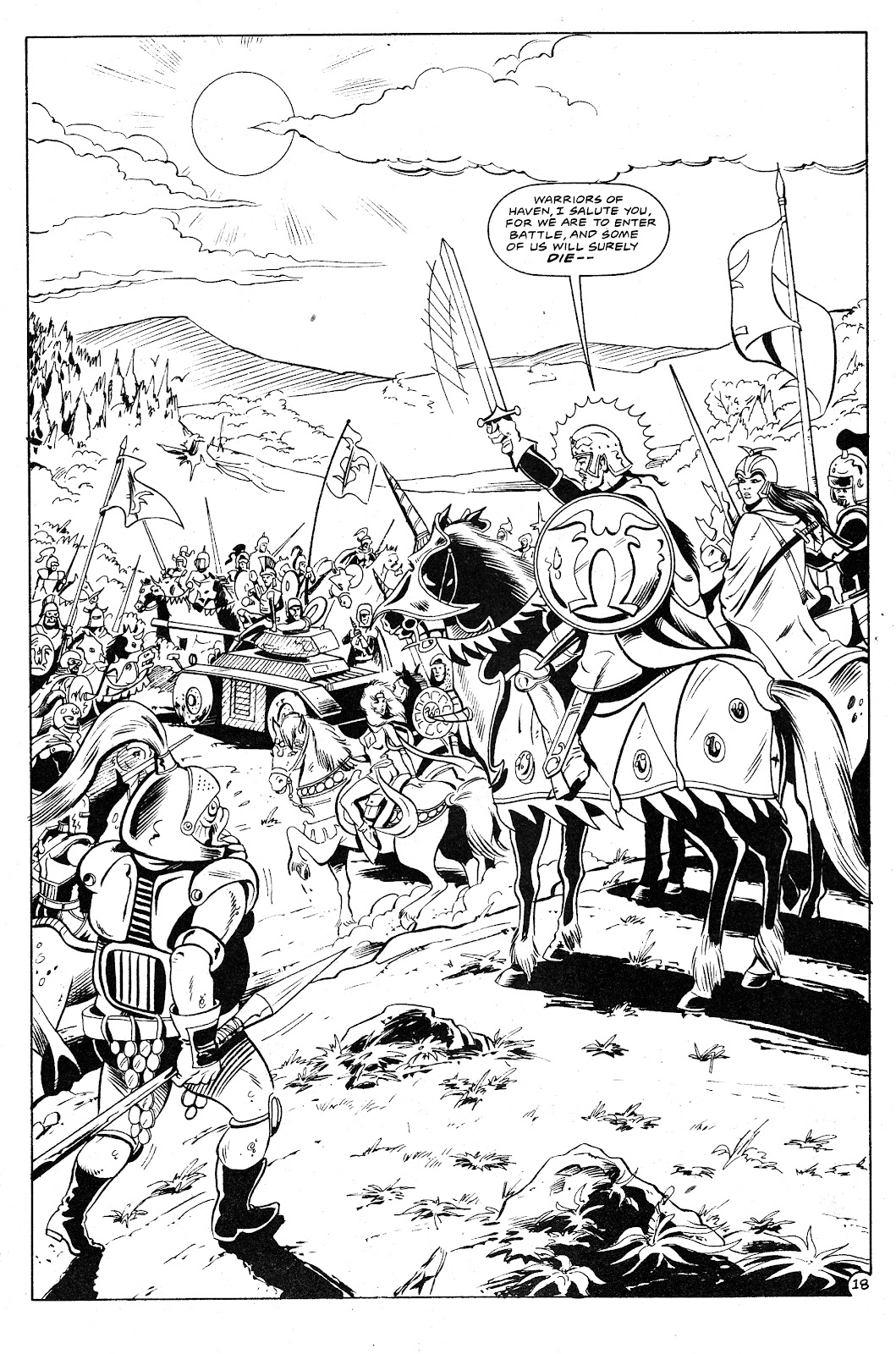 Ex-Mutants: The Shattered Earth Chronicles issue 9 - Page 20