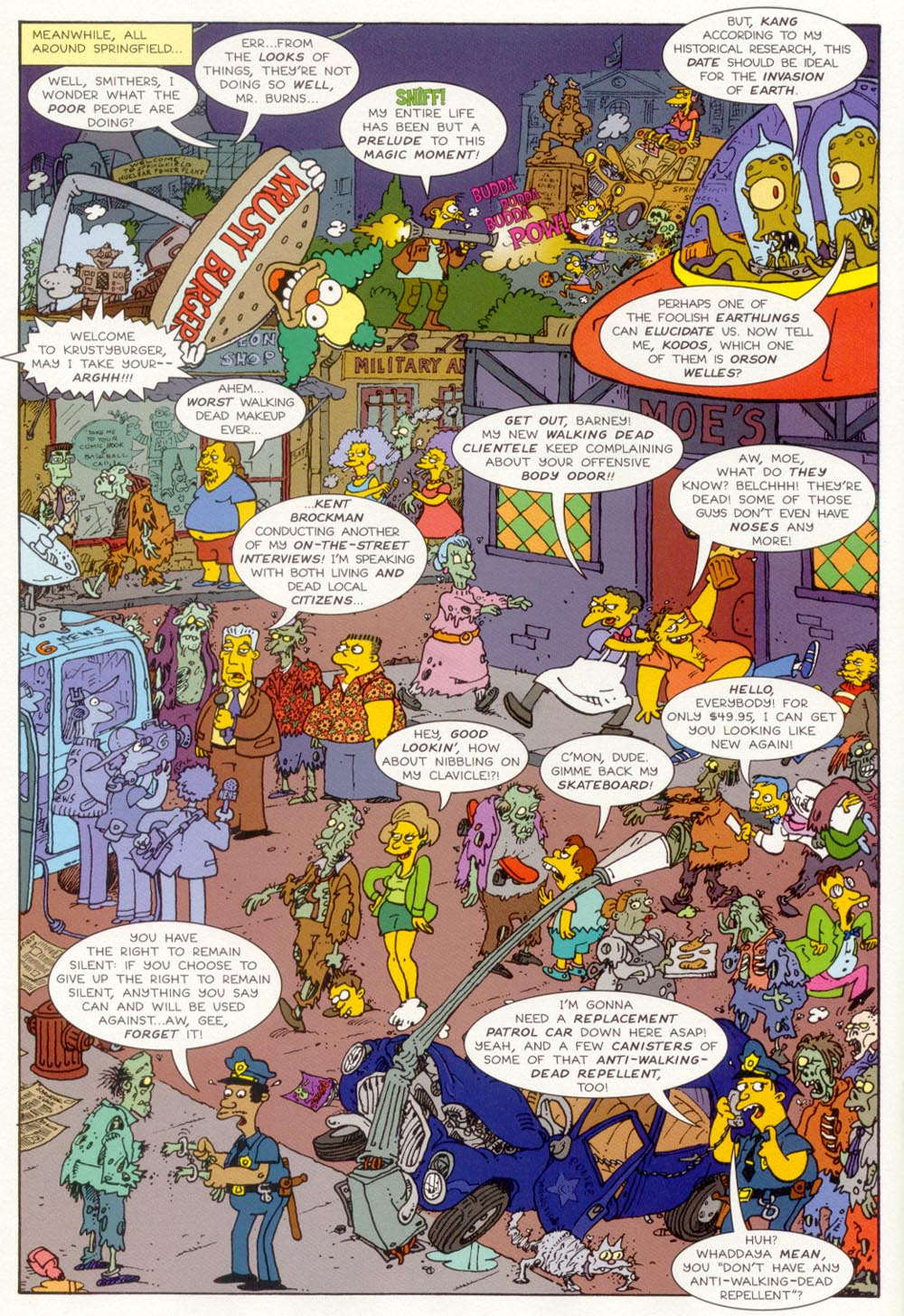 Read online Treehouse of Horror comic -  Issue #5 - 23