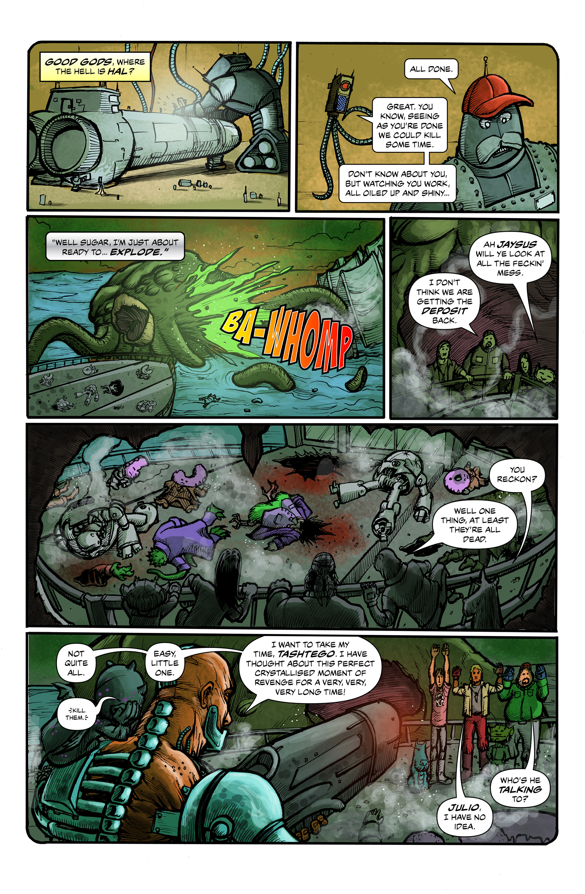 Read online 100% Biodegradable comic -  Issue #12 - 7