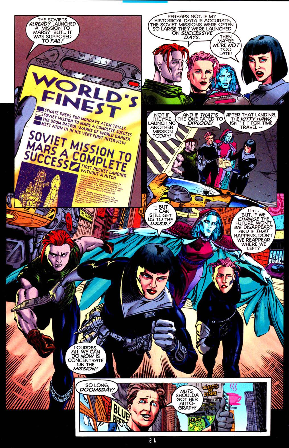 Read online Tangent Comics/ Doom Patrol comic -  Issue # Full - 22