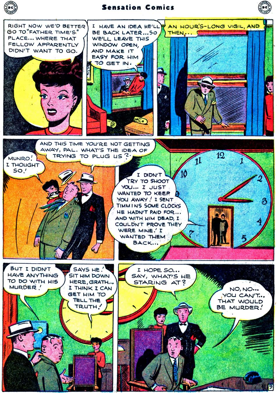 Sensation (Mystery) Comics issue 91 - Page 47