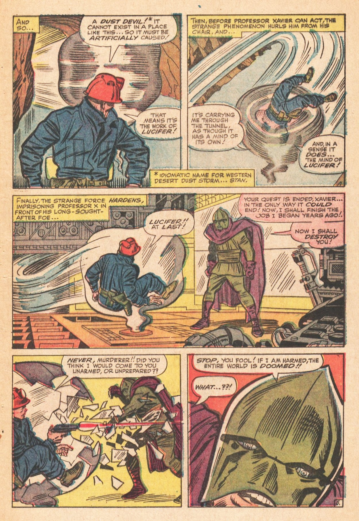 Read online Uncanny X-Men (1963) comic -  Issue # _Annual 1 - 7