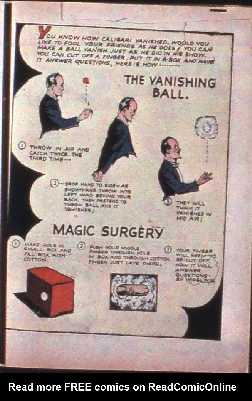 Read online Super-Magician Comics comic -  Issue #7 - 48