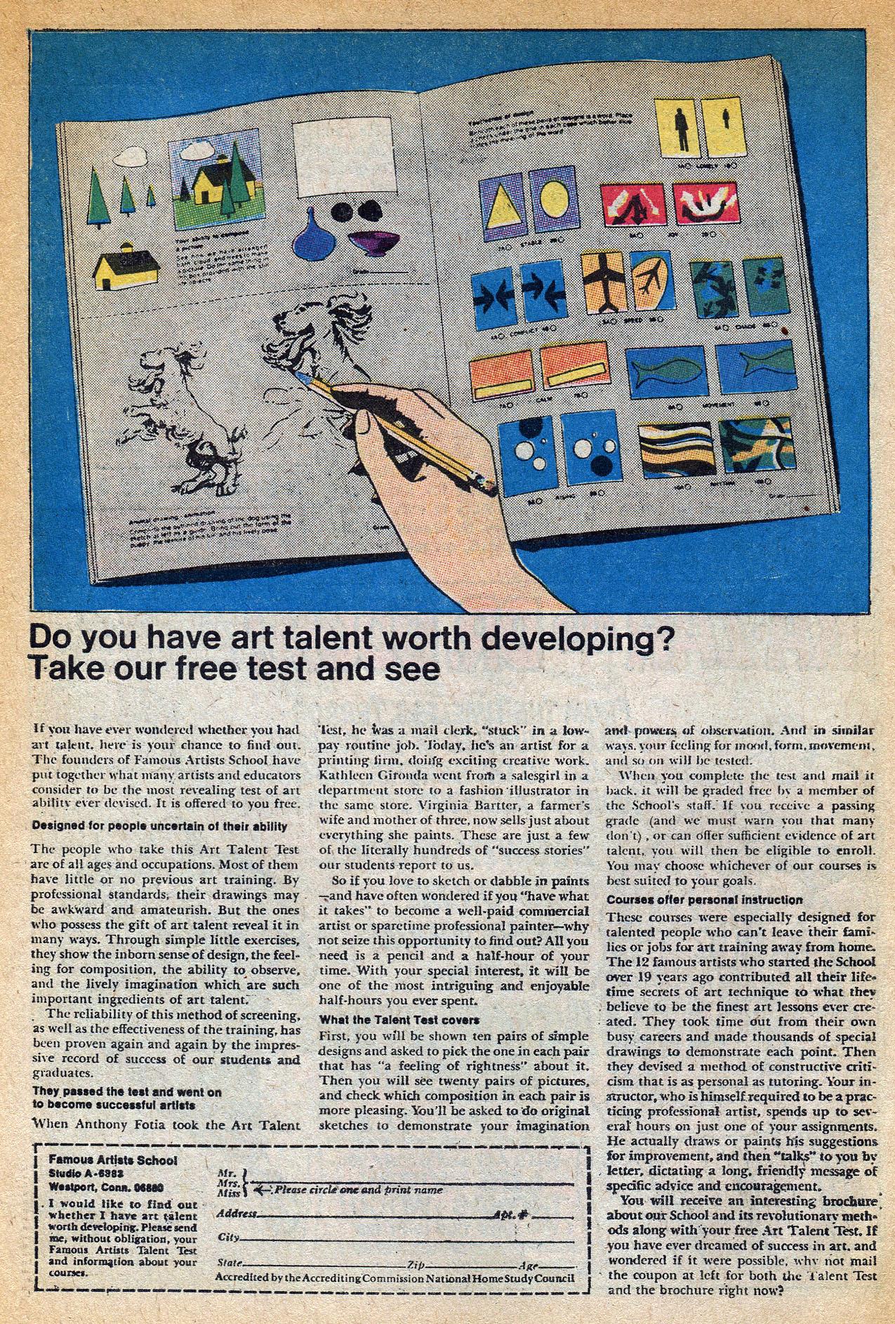 Read online Amazing Adventures (1970) comic -  Issue #1 - 34