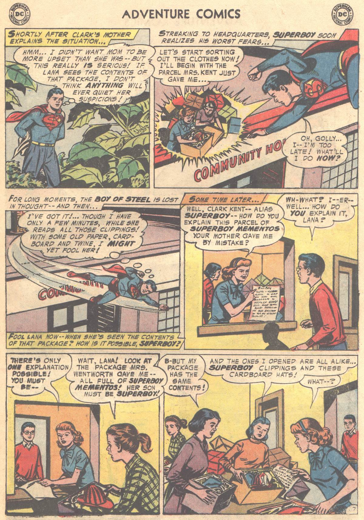 Read online Adventure Comics (1938) comic -  Issue #337 - 31
