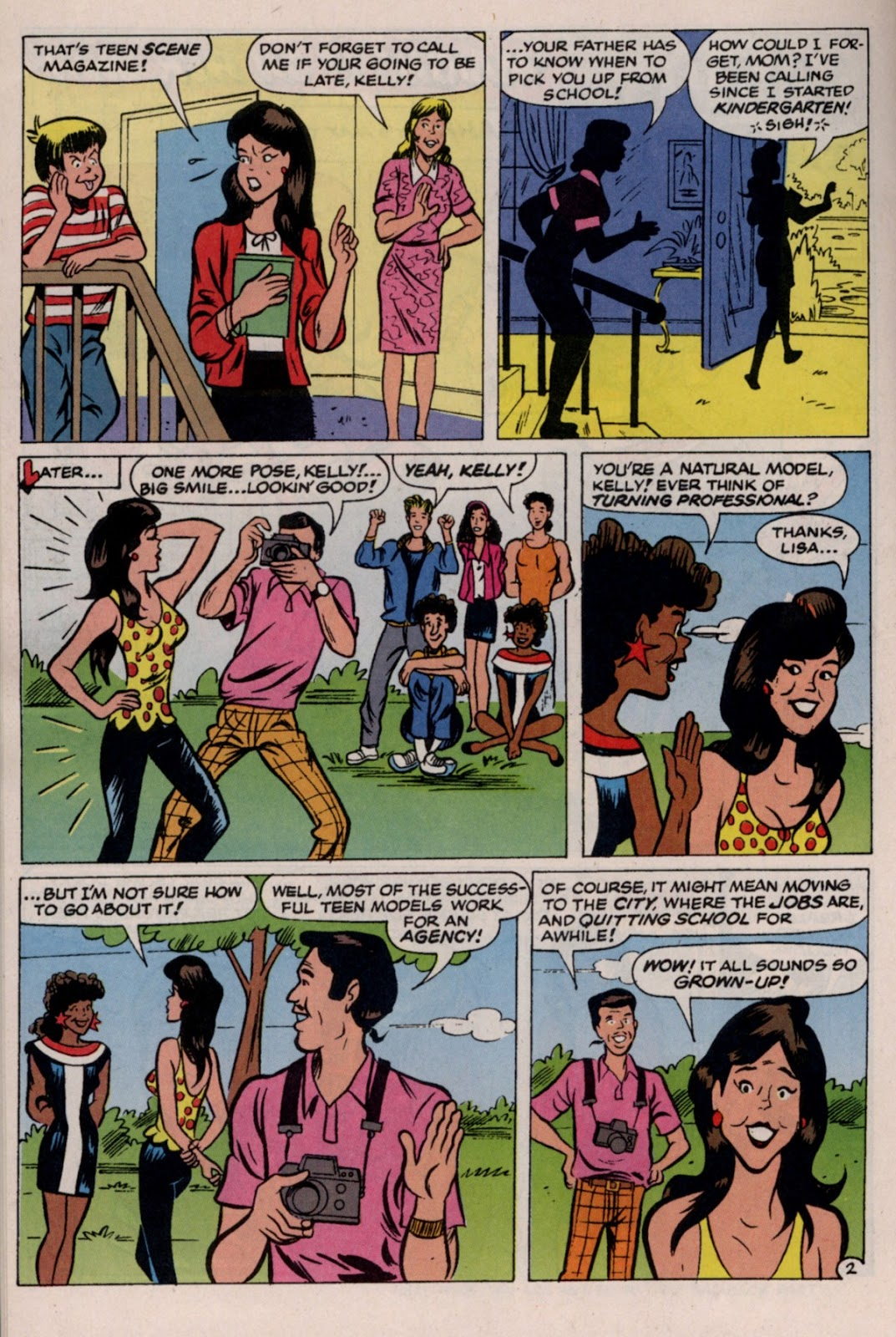 Read online Saved By The Bell comic -  Issue #2 - 23