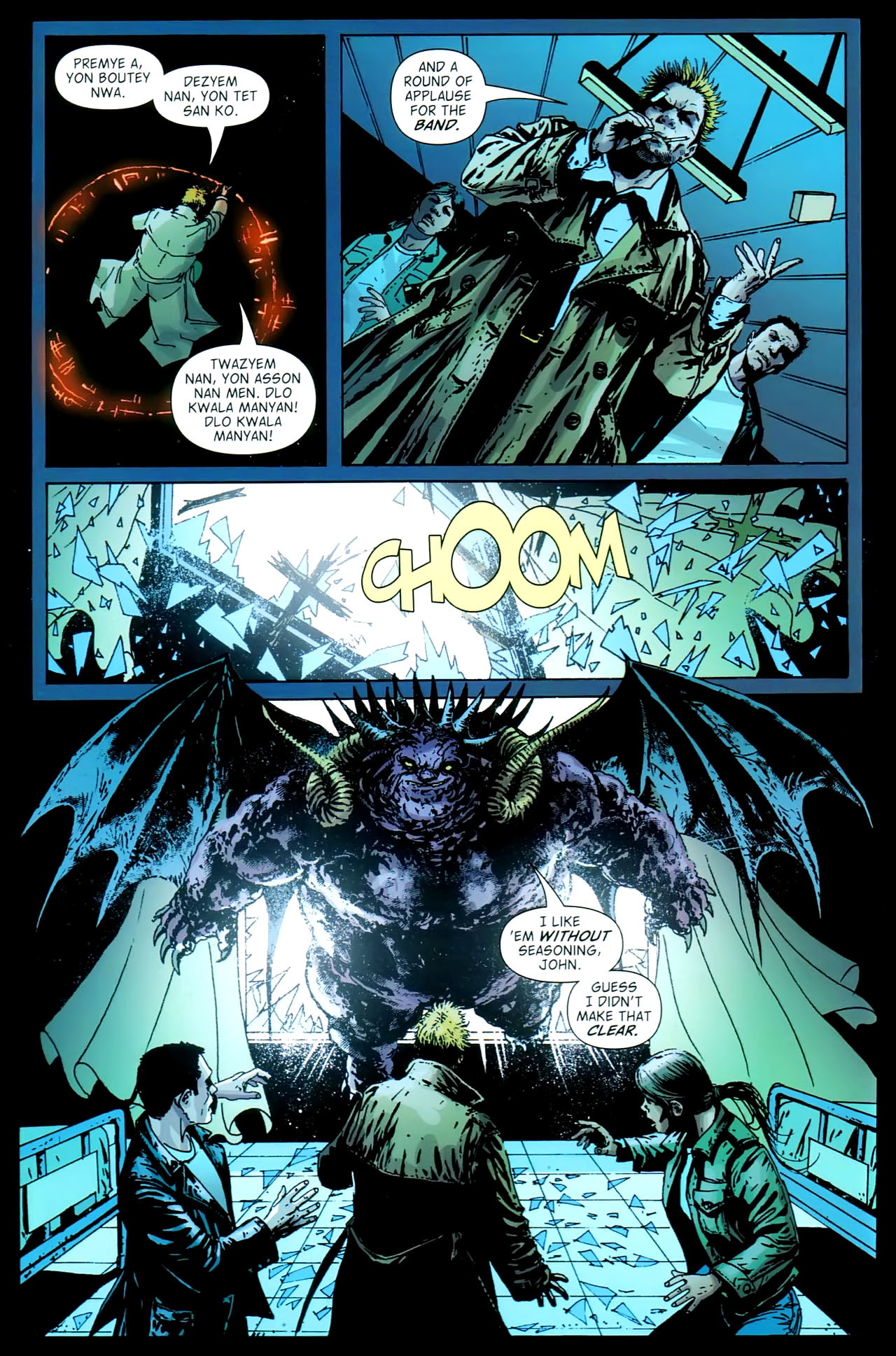 Read online John Constantine Hellblazer: All His Engines comic -  Issue # Full - 102