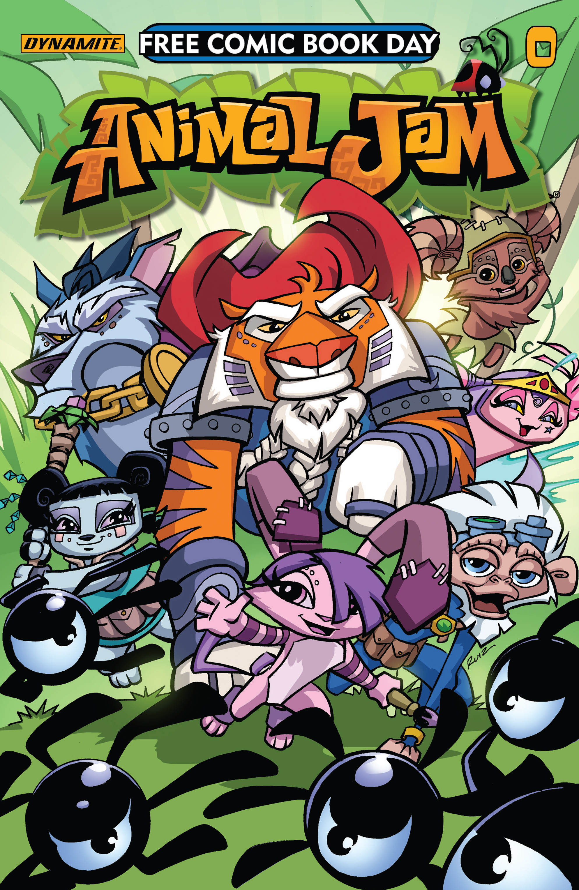 Read online Free Comic Book Day 2017 comic -  Issue # Animal Jam - 1