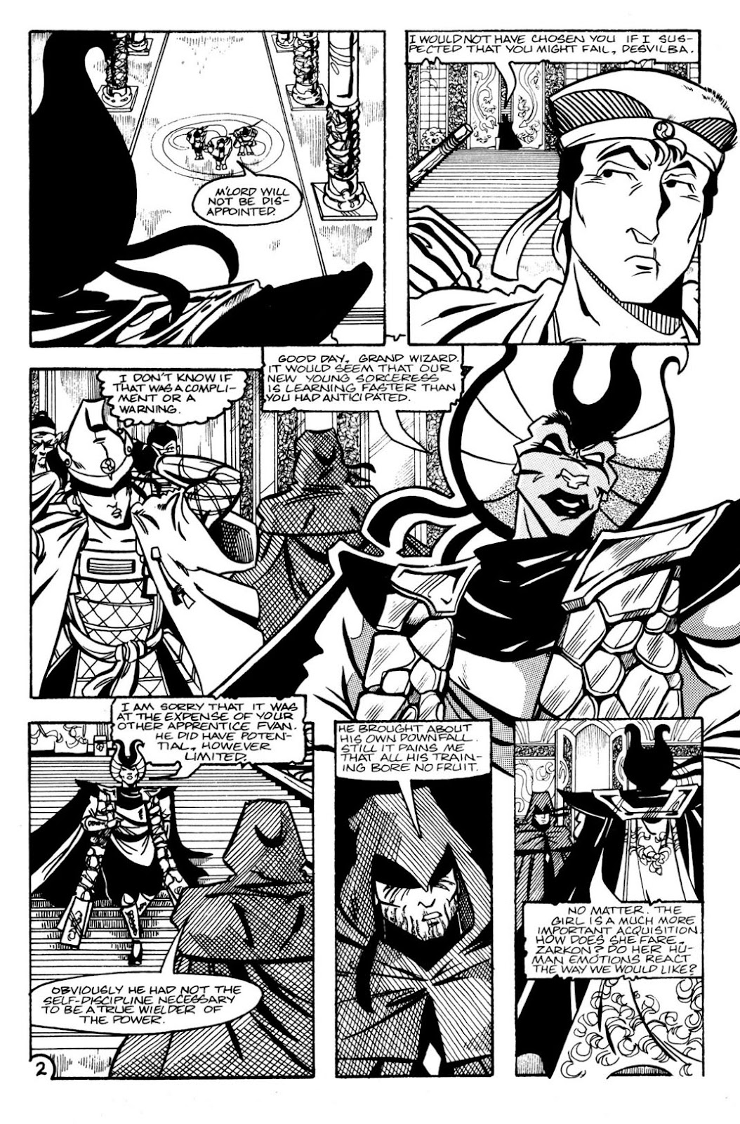 The Realm (1986) issue 9 - Page 4