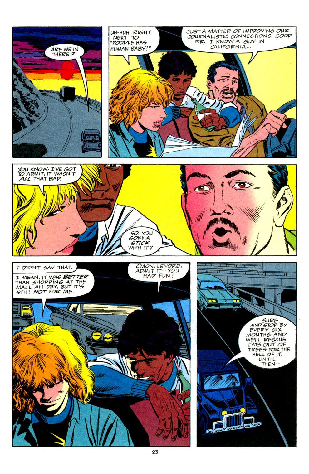Read online Powerline comic -  Issue #2 - 25