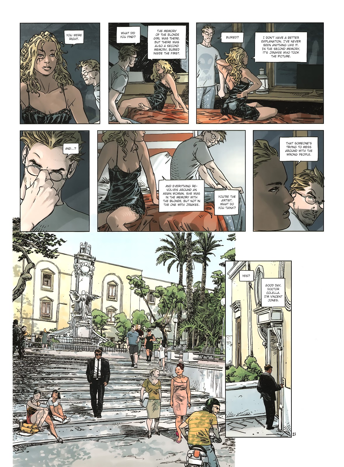 Read online Cutting Edge (2013) comic -  Issue #2 - 22