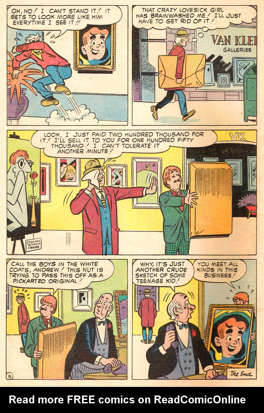 Read online Archie's Girls Betty and Veronica comic -  Issue #169 - 8