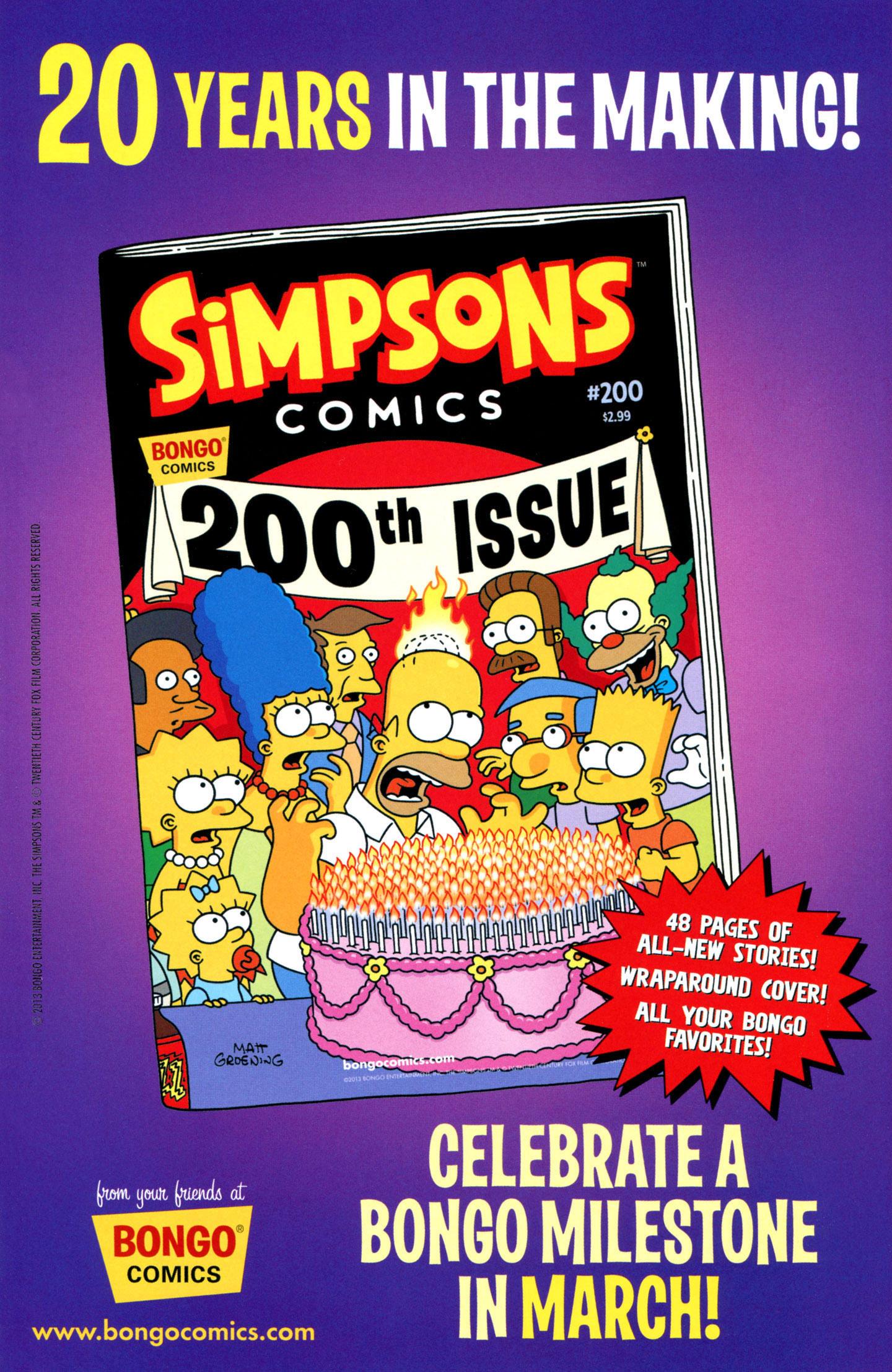 Read online Simpsons One-Shot Wonders: Professor Frink comic -  Issue # Full - 31