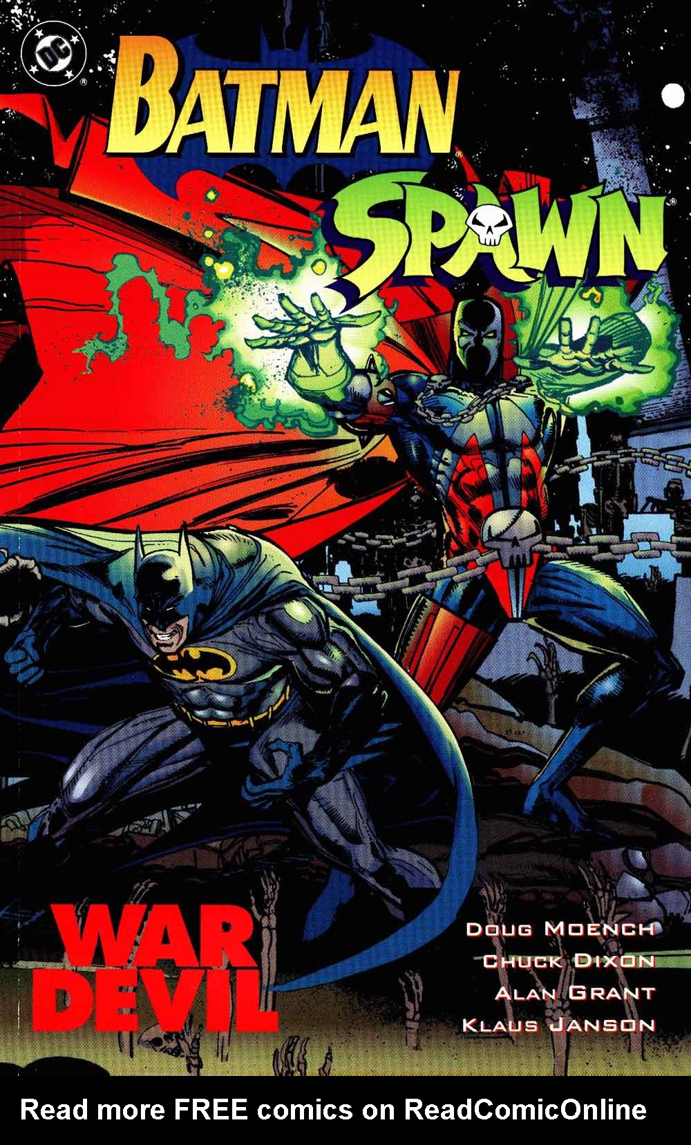 Batman-Spawn: War Devil issue Full - Page 1