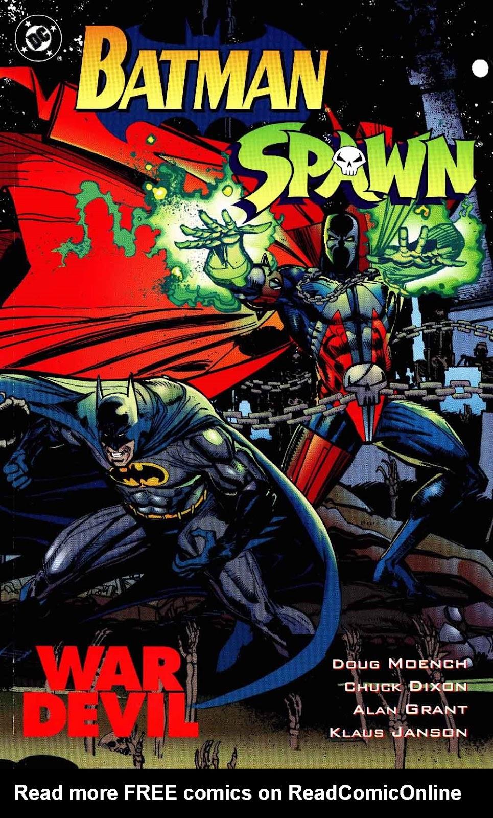 Batman-Spawn: War Devil Full Page 1