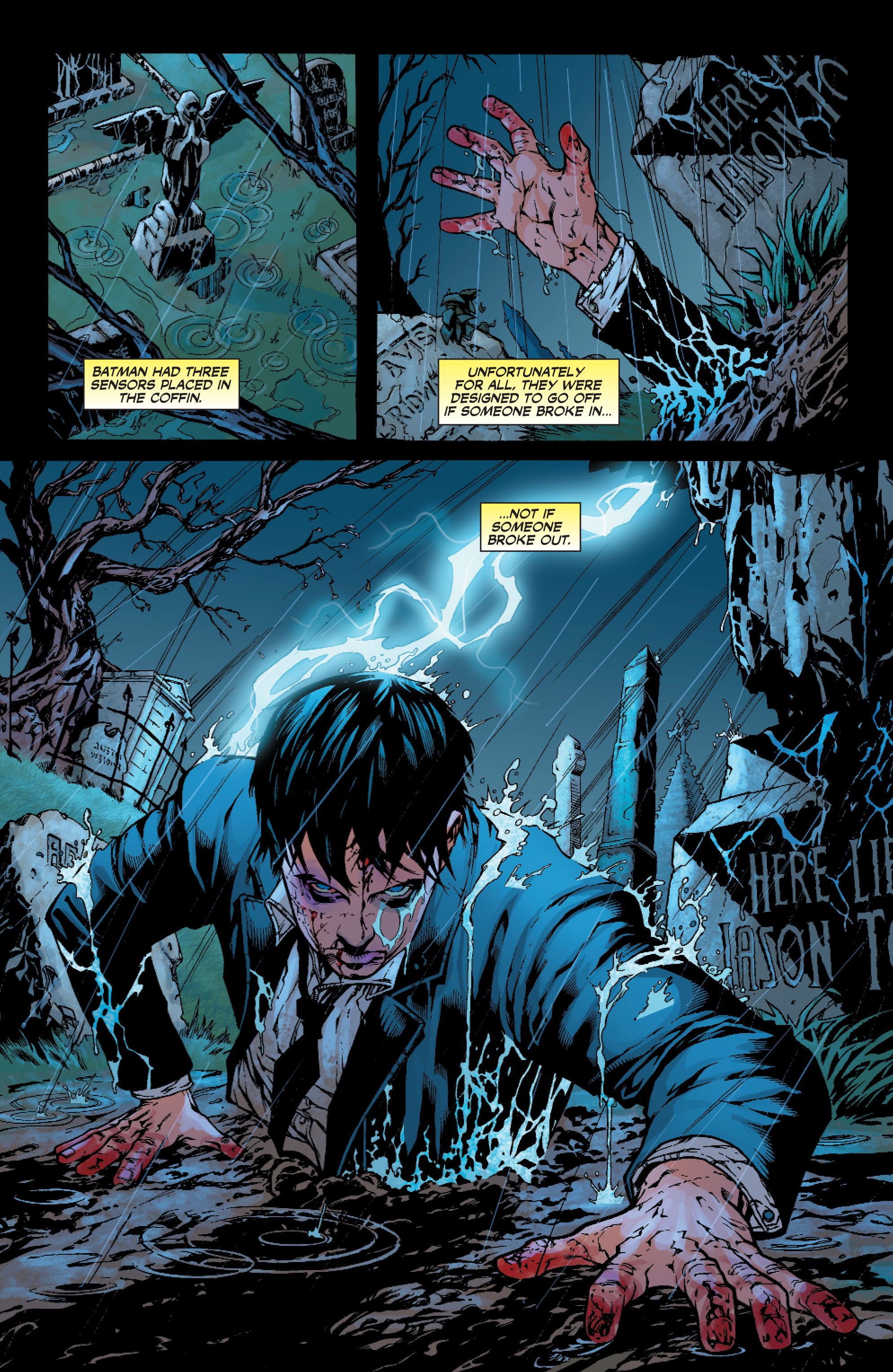 Read online Batman: Under The Red Hood comic -  Issue # Full - 331