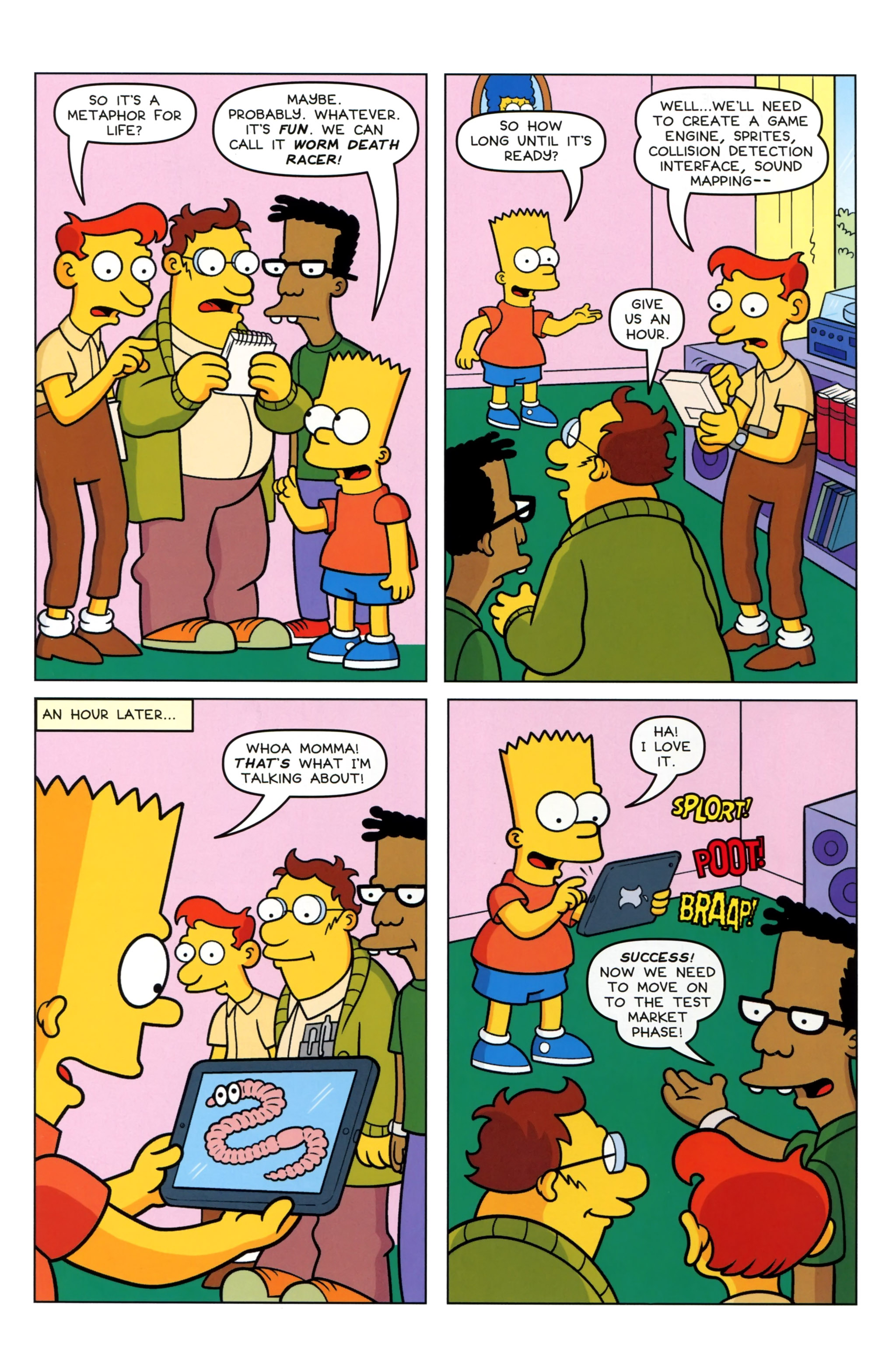 Read online Simpsons Comics Presents Bart Simpson comic -  Issue #97 - 10