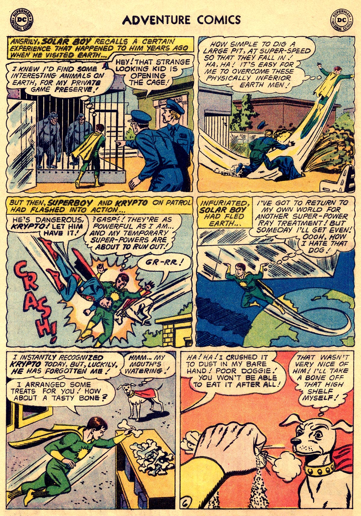 Read online Adventure Comics (1938) comic -  Issue #269 - 8