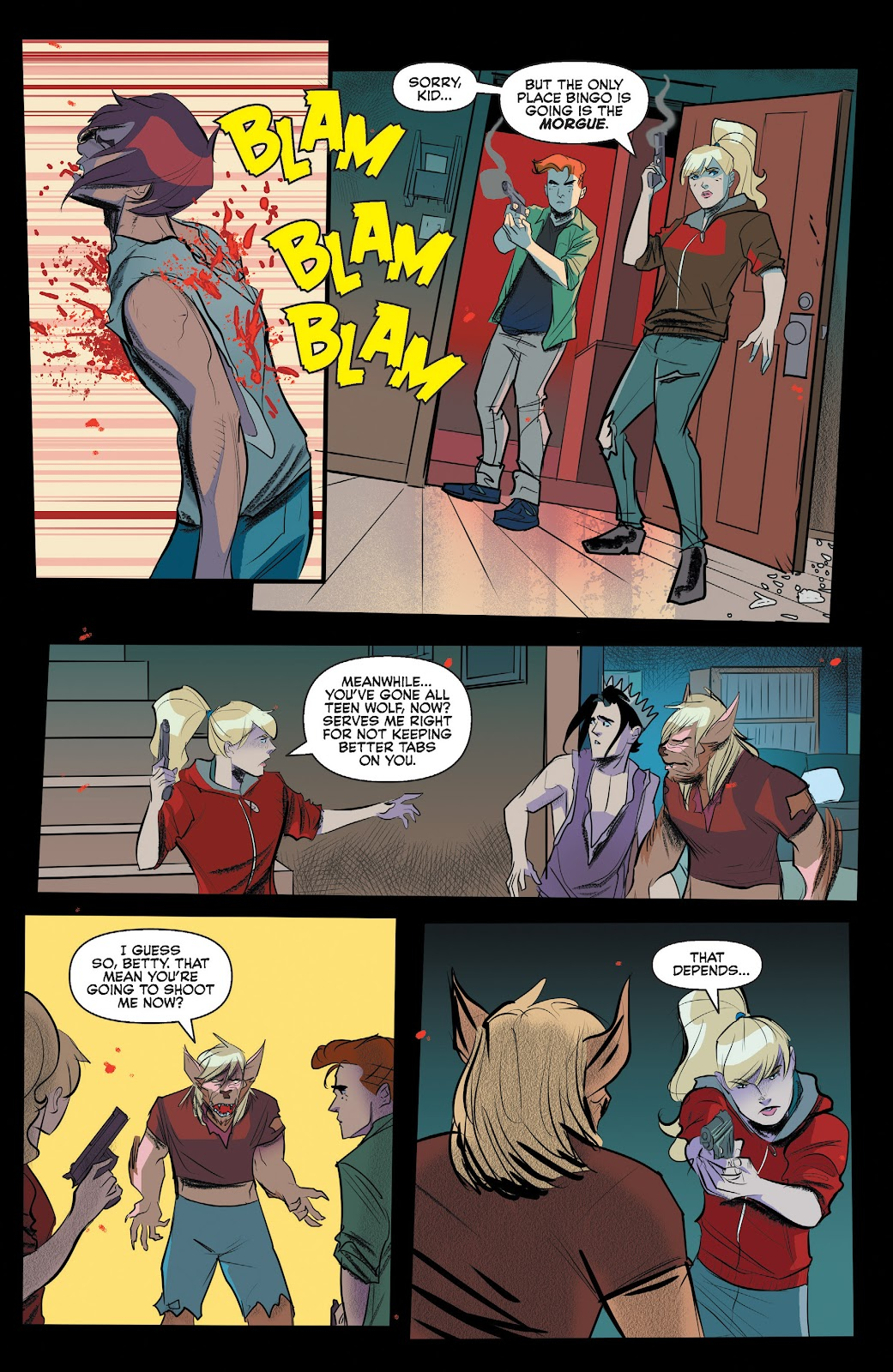 Read online Jughead The Hunger comic -  Issue #13 - 16