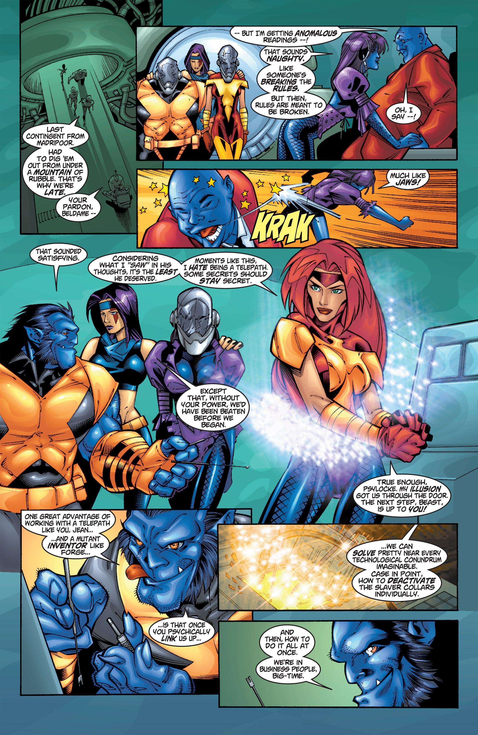 Read online Uncanny X-Men (1963) comic -  Issue #385 - 18