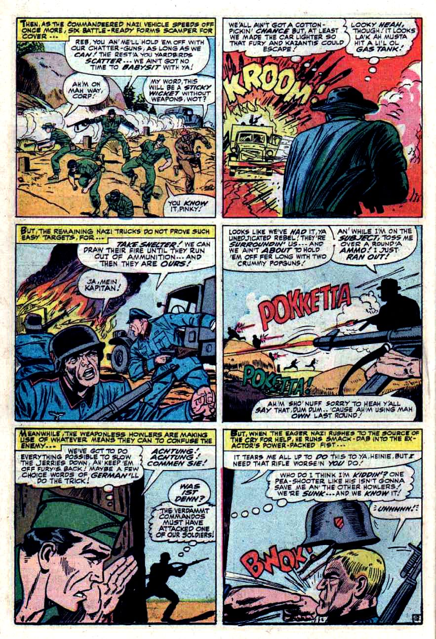 Read online Sgt. Fury comic -  Issue #33 - 26