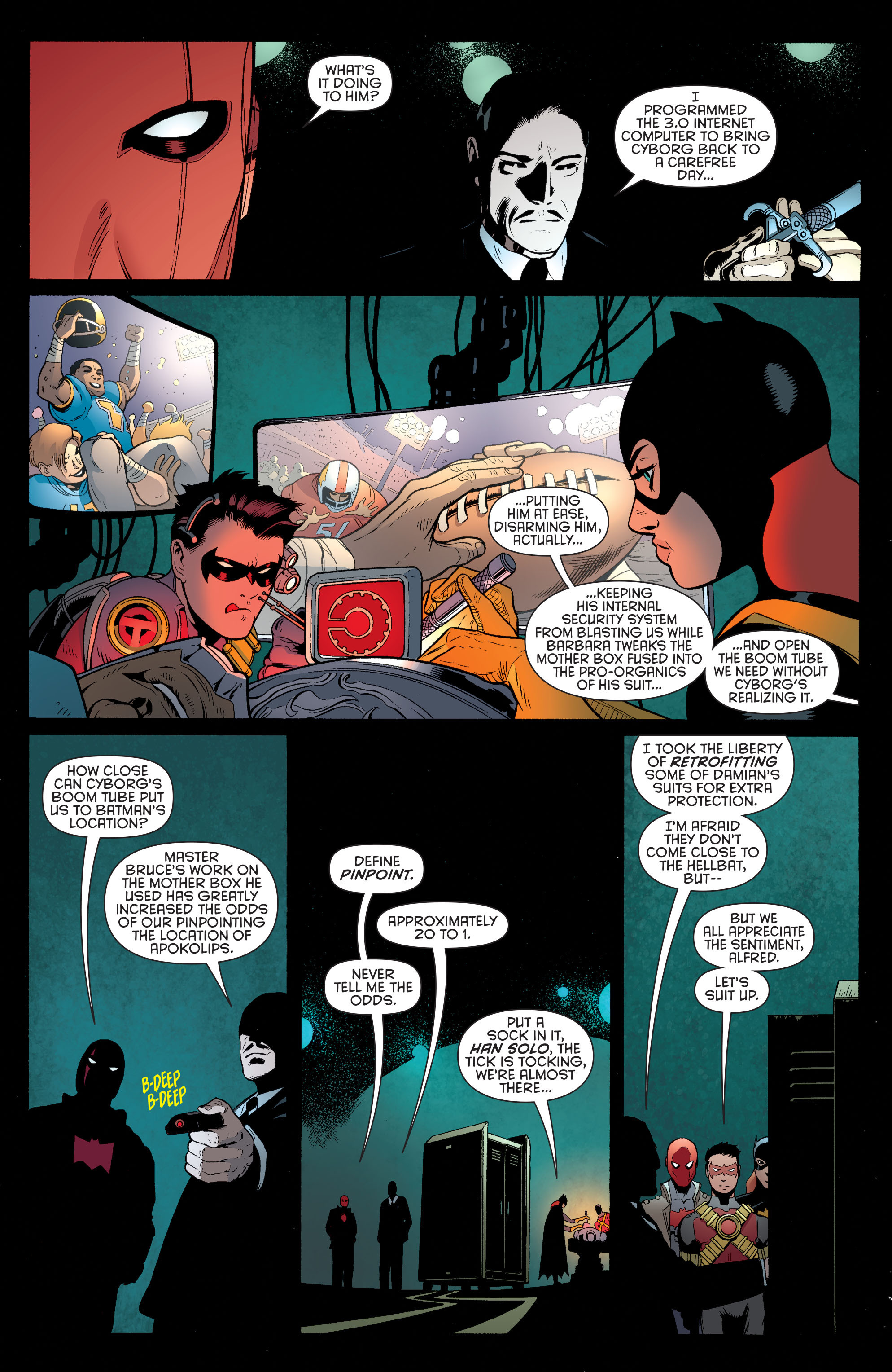 Read online Batman and Robin (2011) comic -  Issue #35 - 14