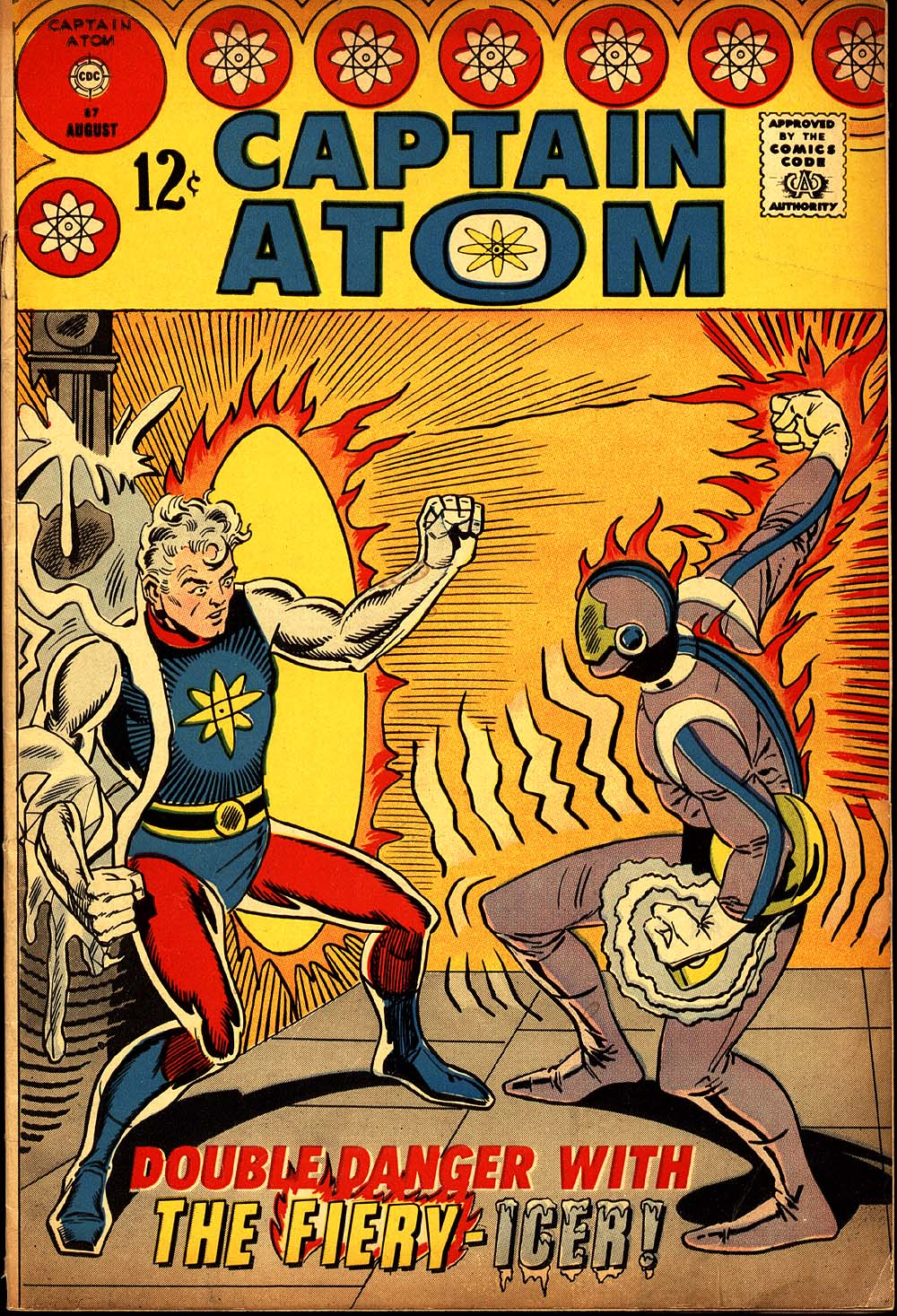 Captain Atom (1965) issue 87 - Page 1