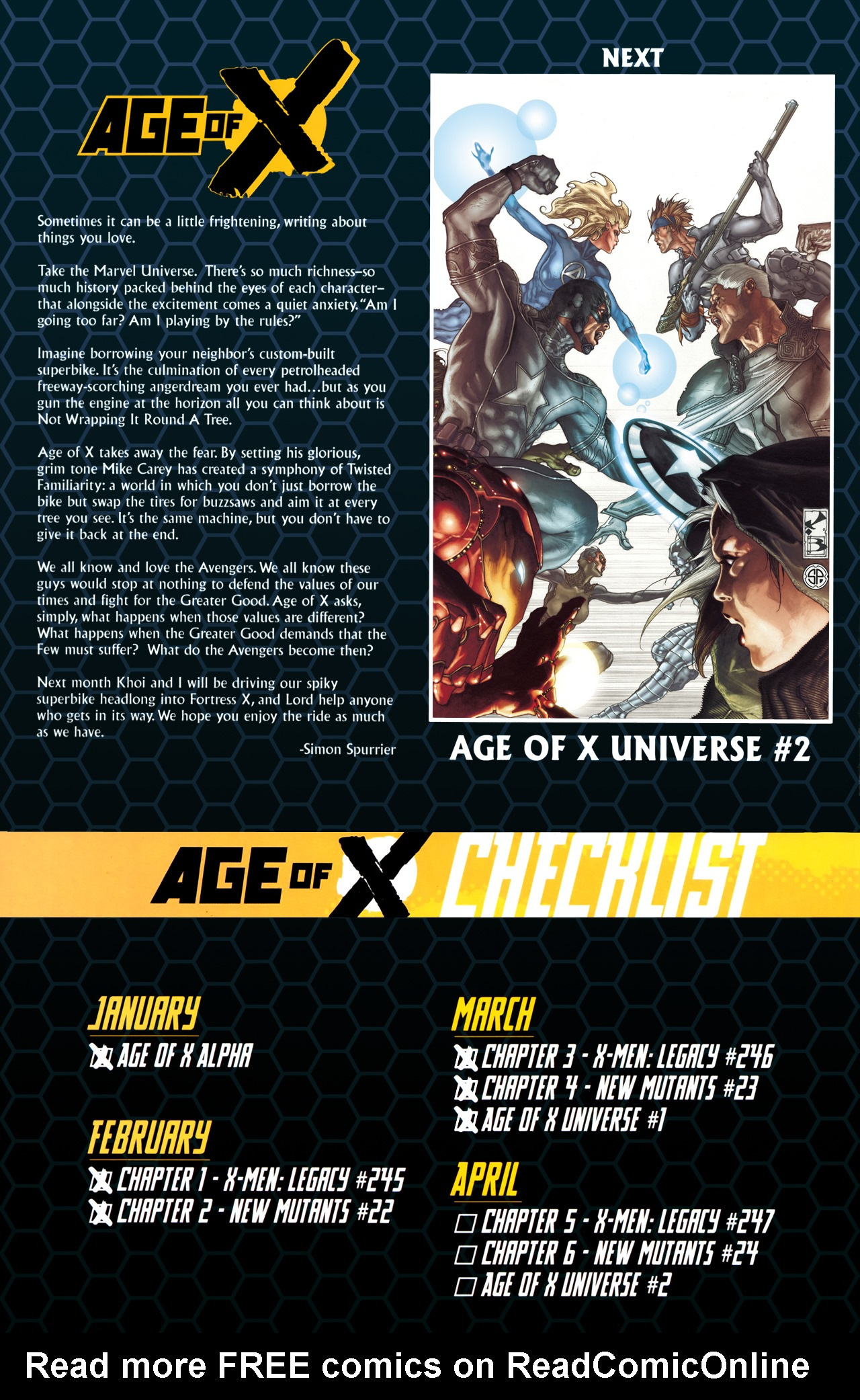 Read online Age of X: Universe comic -  Issue #1 - 32