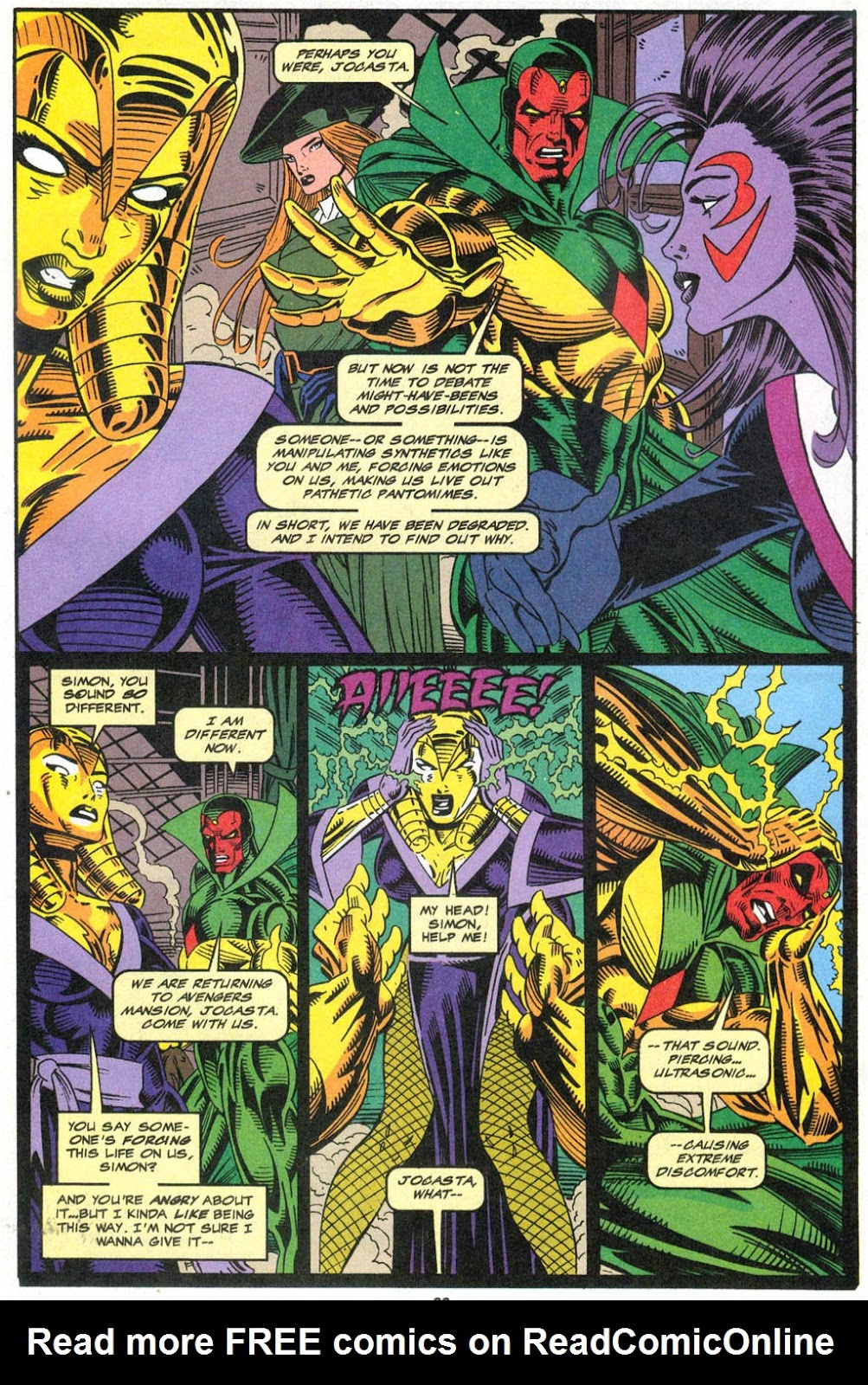 Read online The Vision comic -  Issue #2 - 19