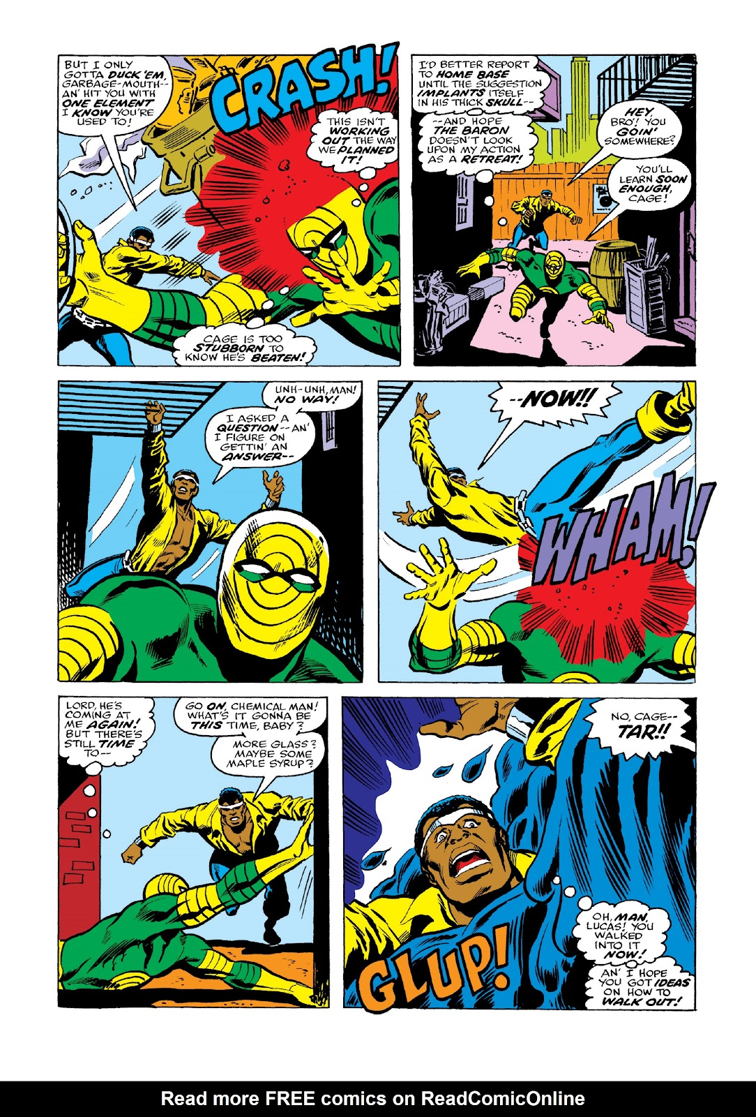 Read online Marvel Masterworks: Luke Cage, Power Man comic -  Issue # TPB 3 (Part 2) - 46