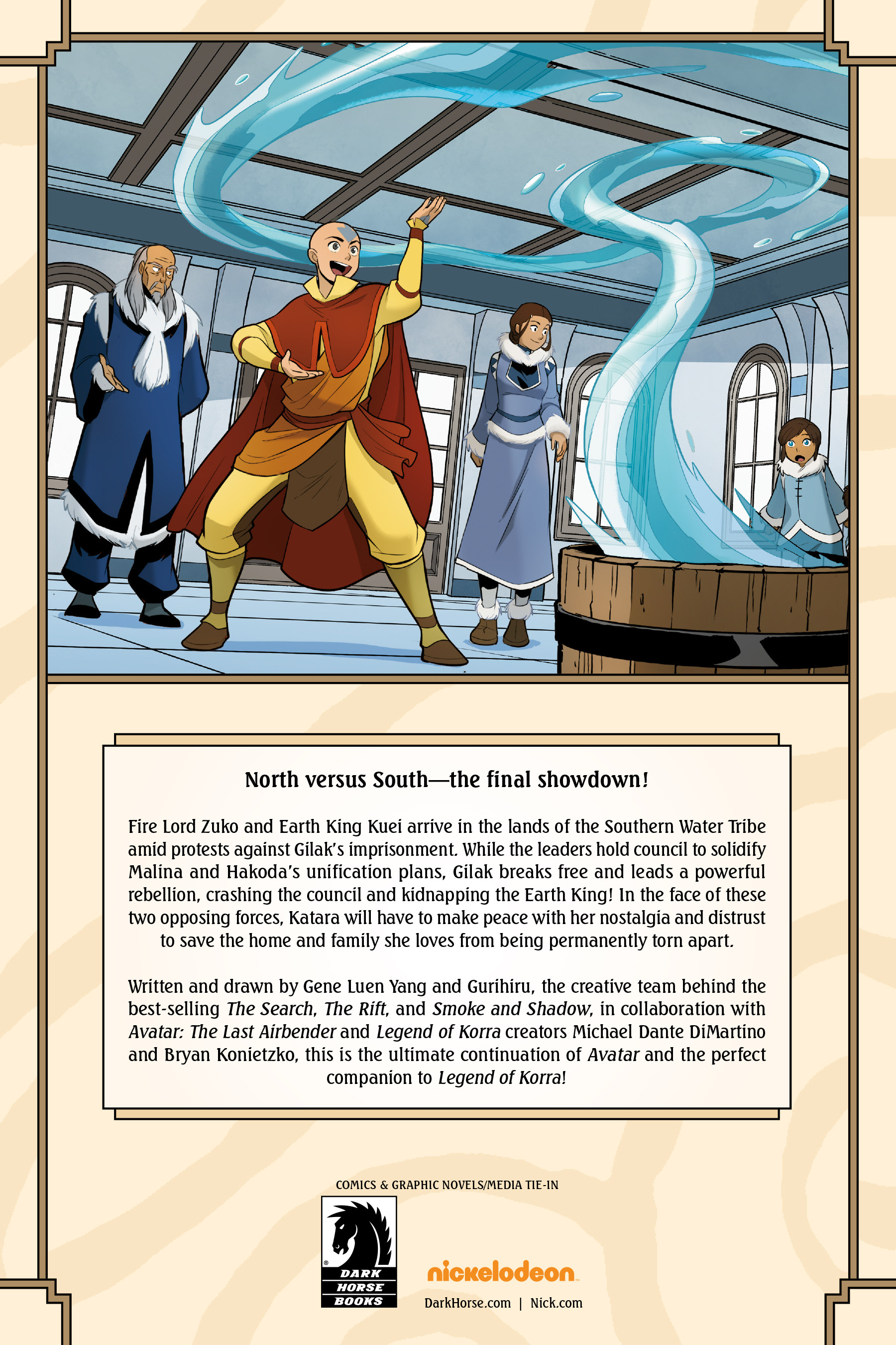 Read online Nickelodeon Avatar: The Last Airbender - North and South comic -  Issue #3 - 77