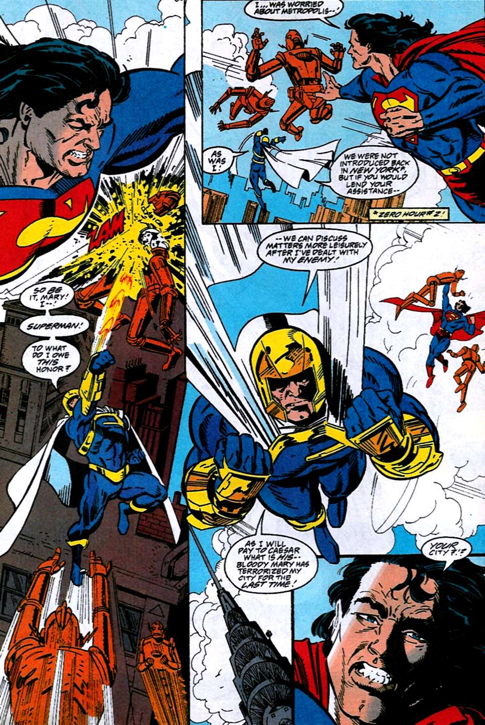 Read online Adventures of Superman (1987) comic -  Issue #516 - 7